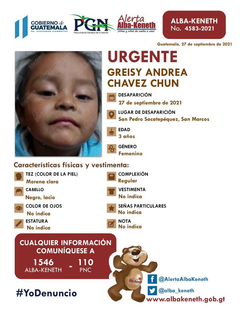 Greisy Andrea Chávez Chún