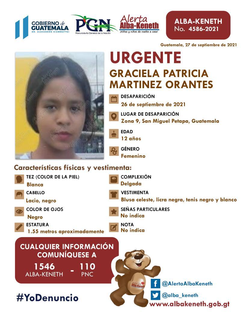 Graciela Patricia Martínez Orantes
