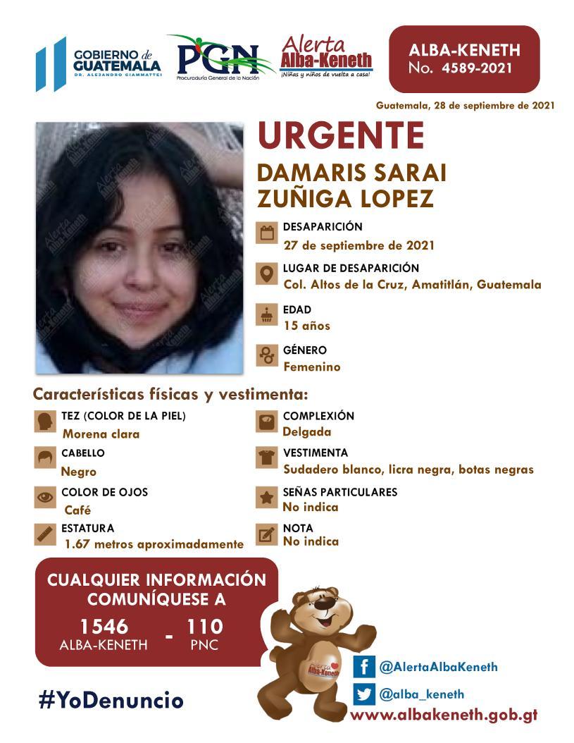 Damaris Saraí Zúñiga López