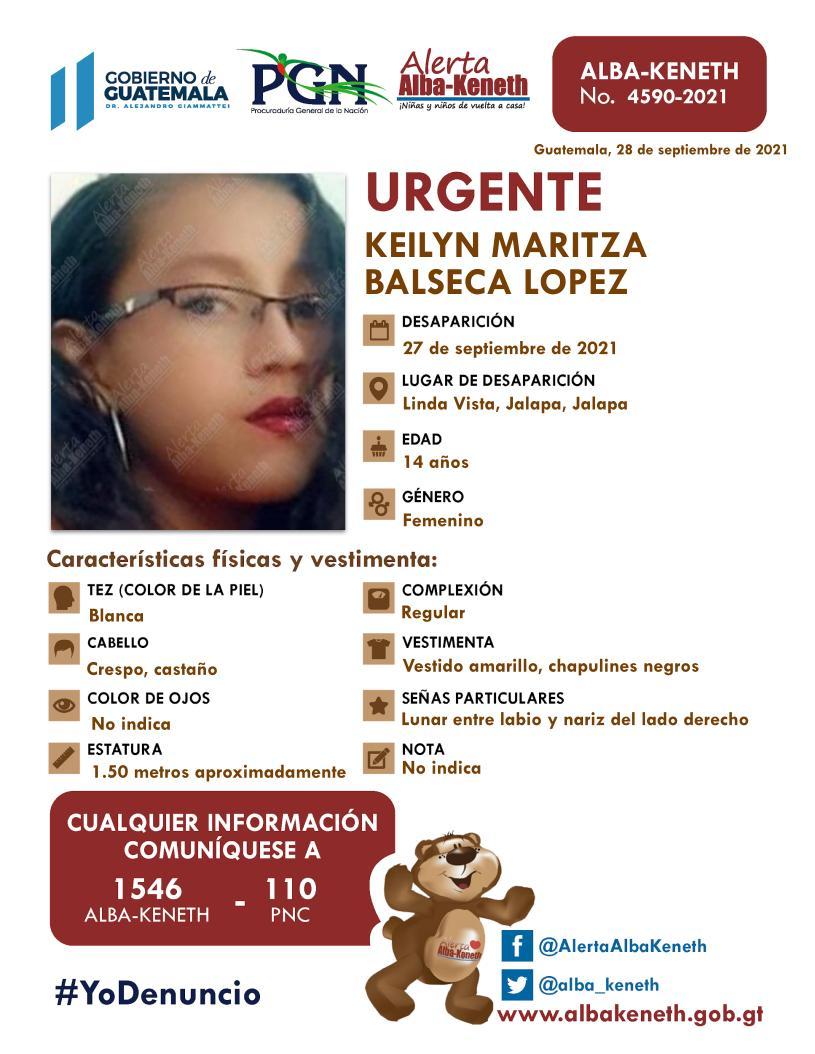 Keilyn Maritza Balseca López