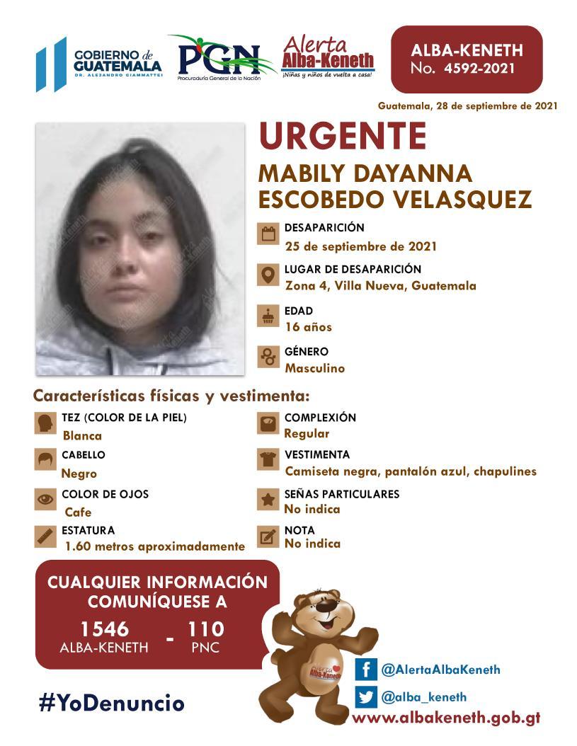 Mabily Dayanna Escobedo Velasquez