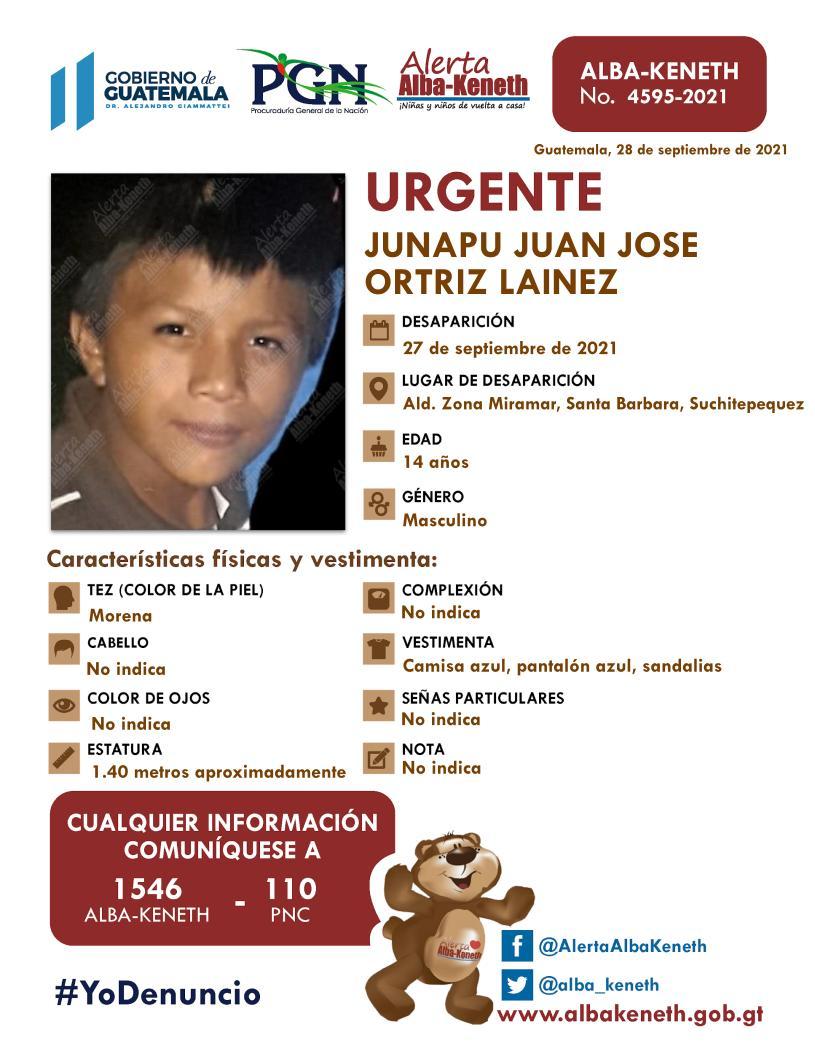 Junapu Juna Jose Ortiz Lainez