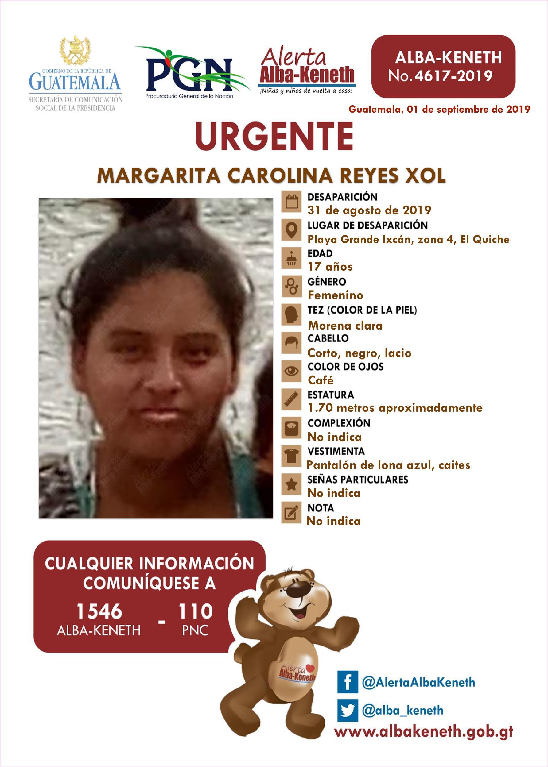 Margarita Carolina Reyes Xol