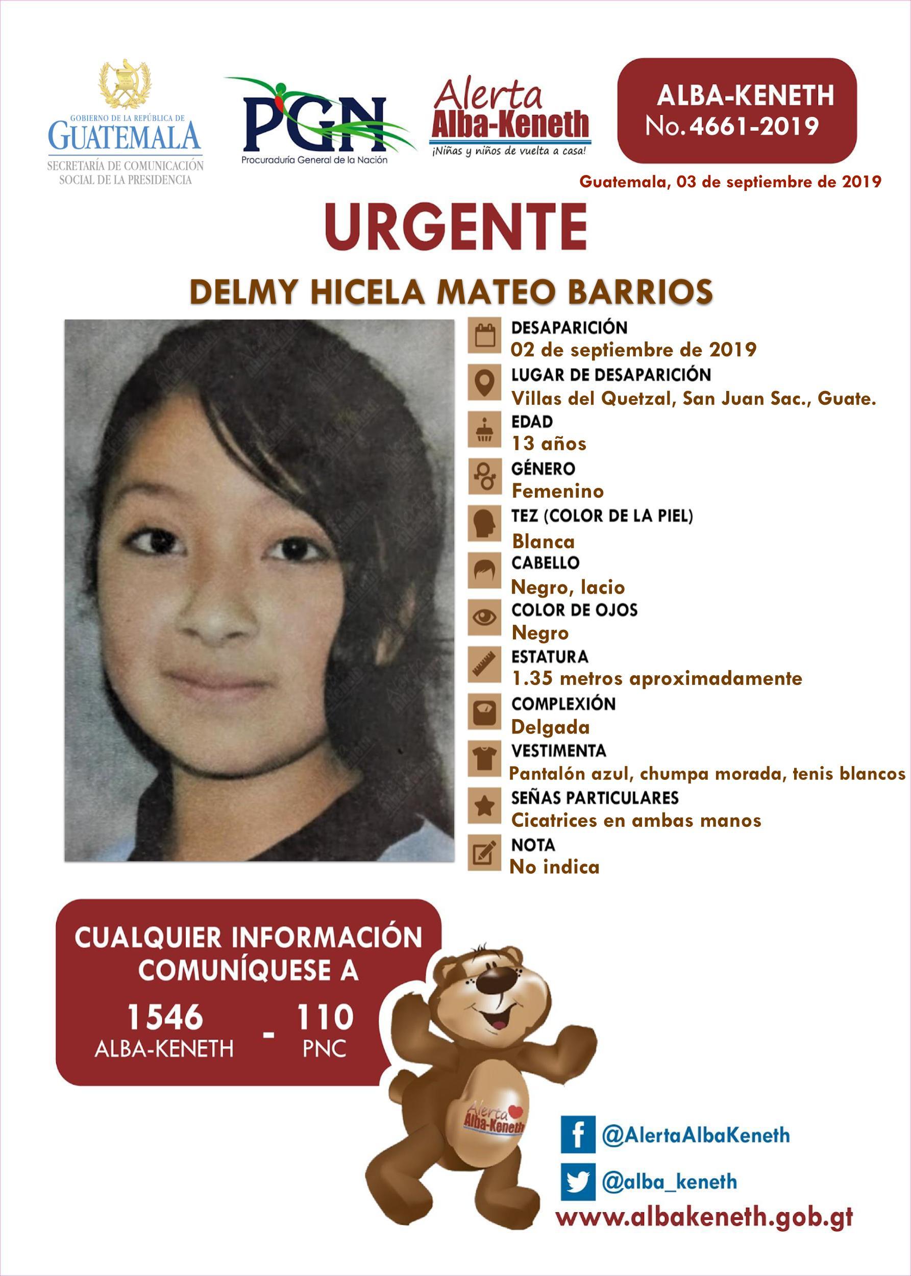 Delmy Hicela Mateo Barrios