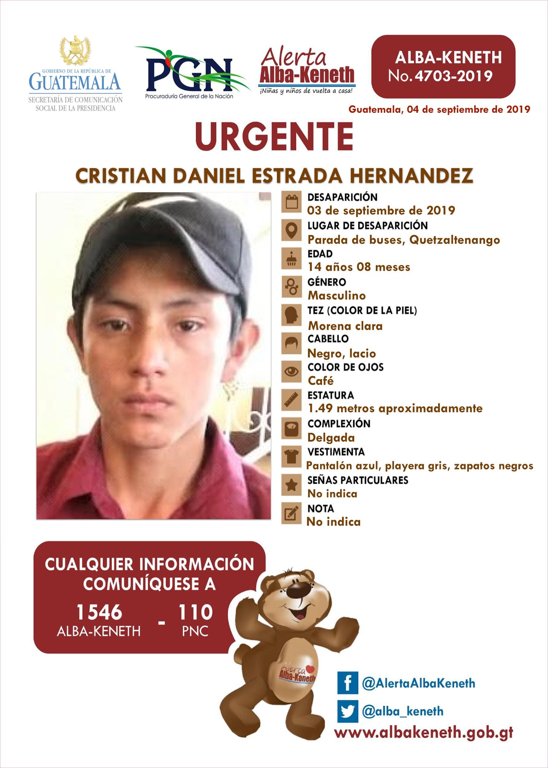 Cristian Daniel Estrada Hernandez
