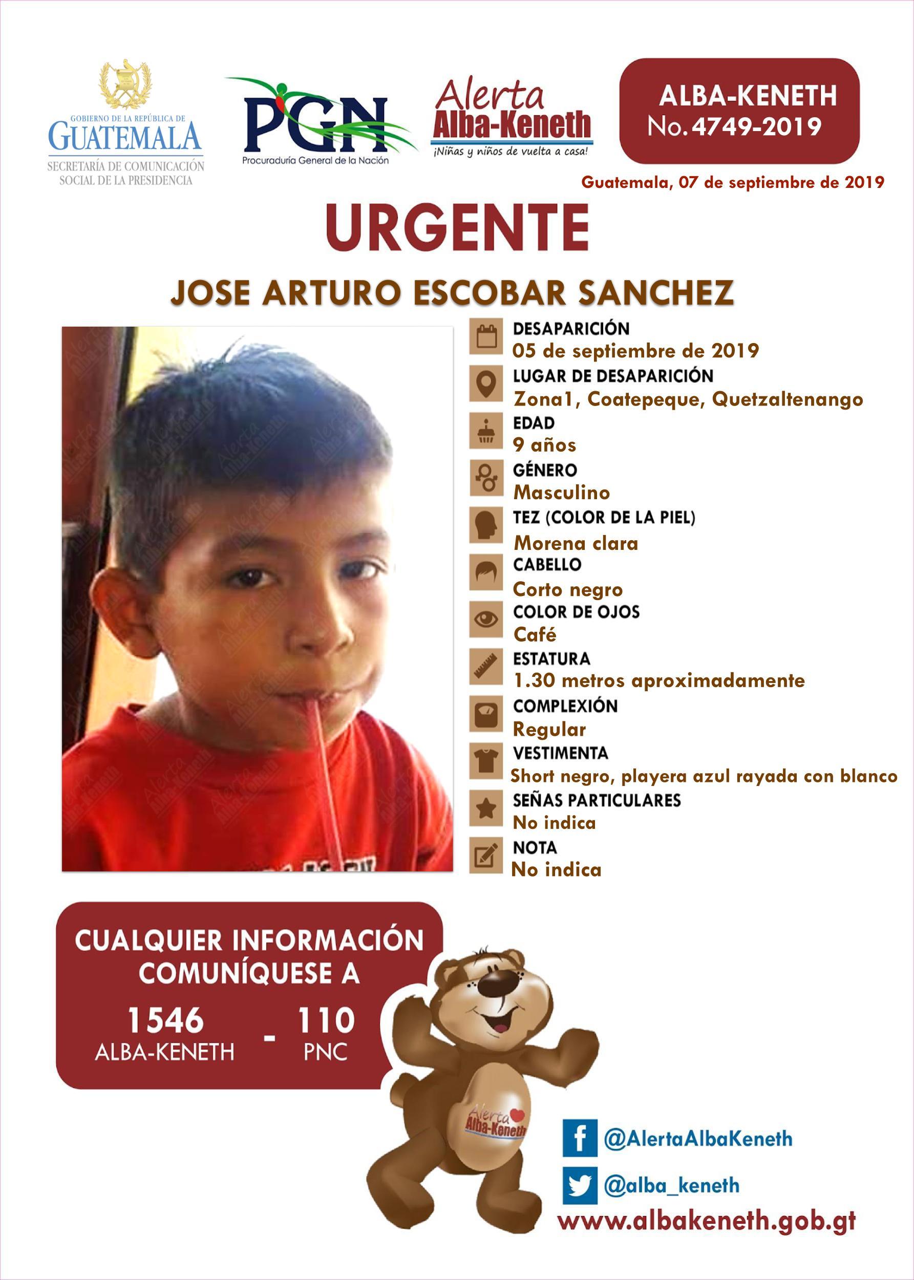 Jose Arturo Escobar Sanchez