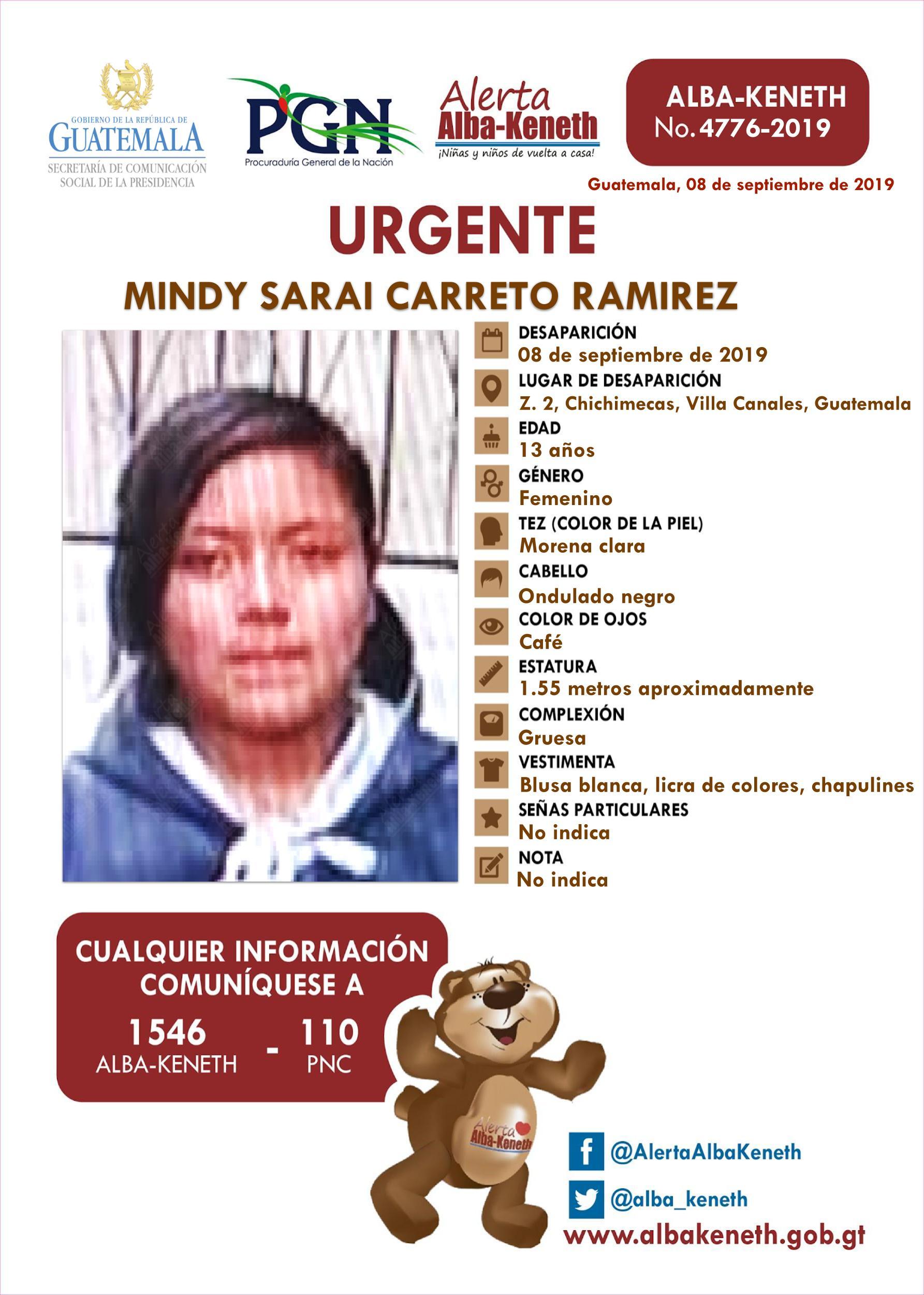 Mindy Sarai Carreto Ramirez