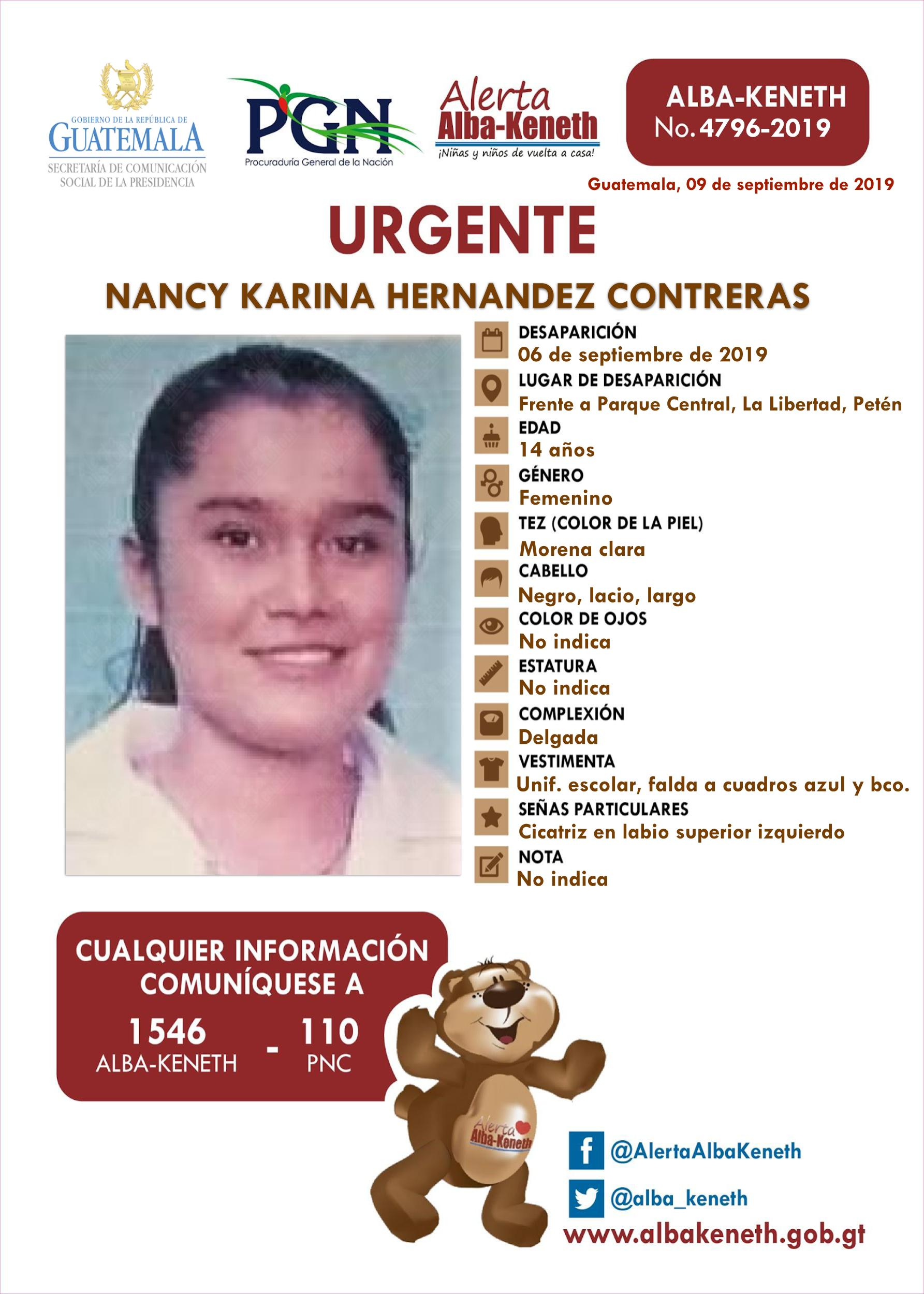Nancy Karina Hernandez Contreras