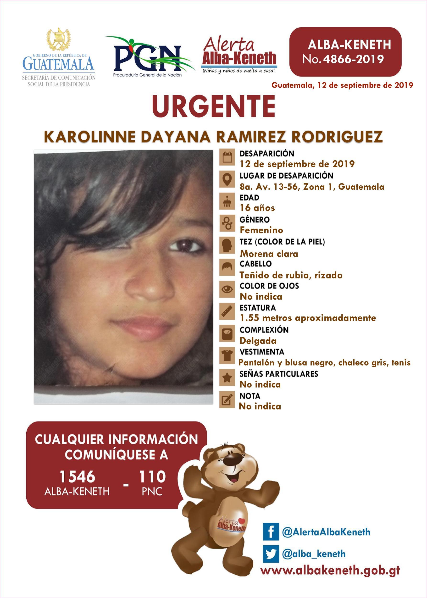 Karolinne Dayana Ramirez Rodriguez