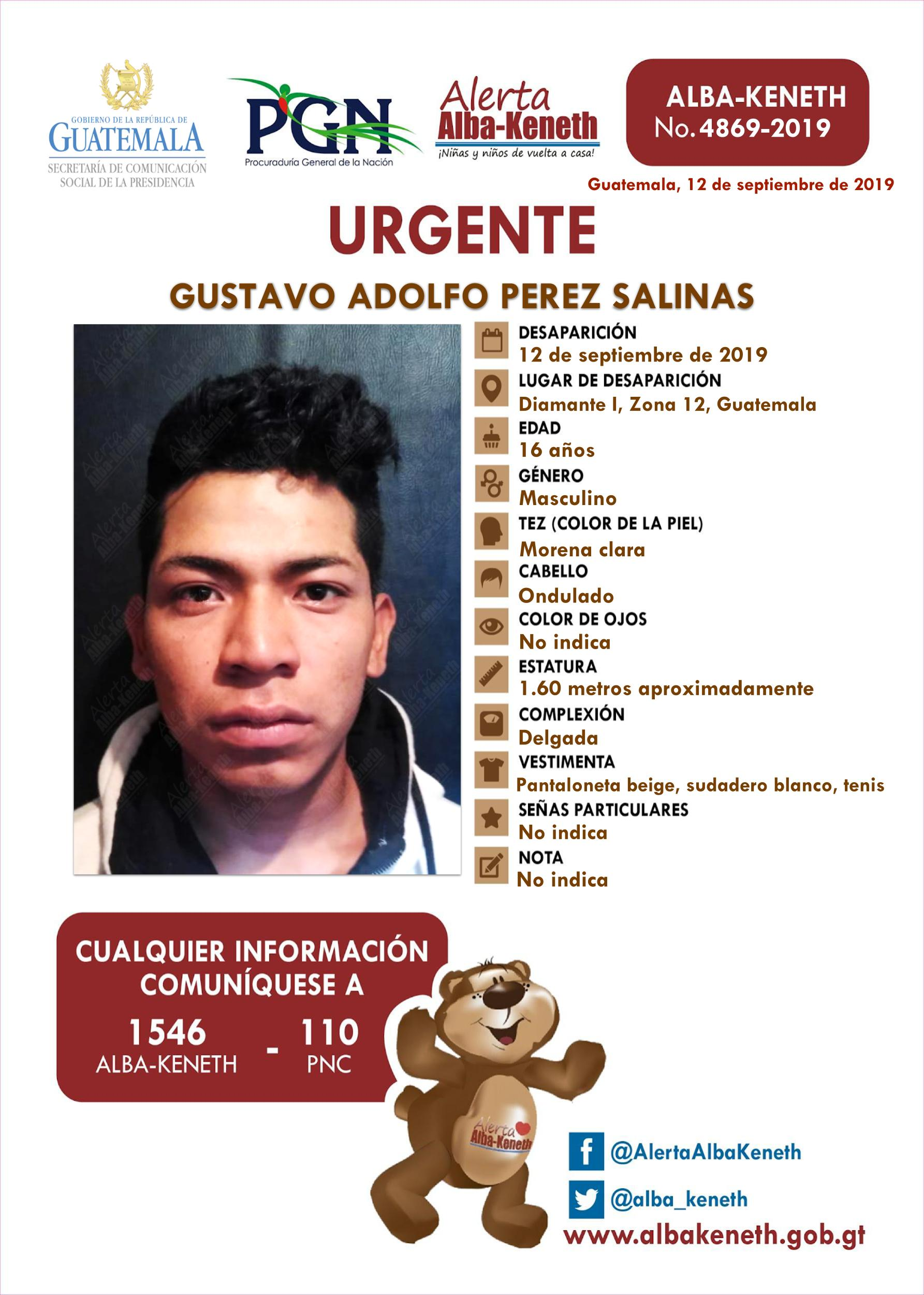 Gustavo Adolfo Perez Salinas