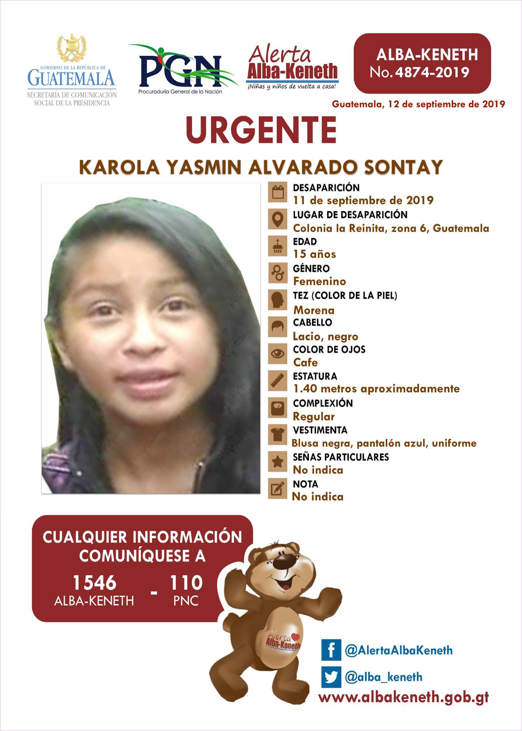 Karola Yasmin Alvarado Sontay