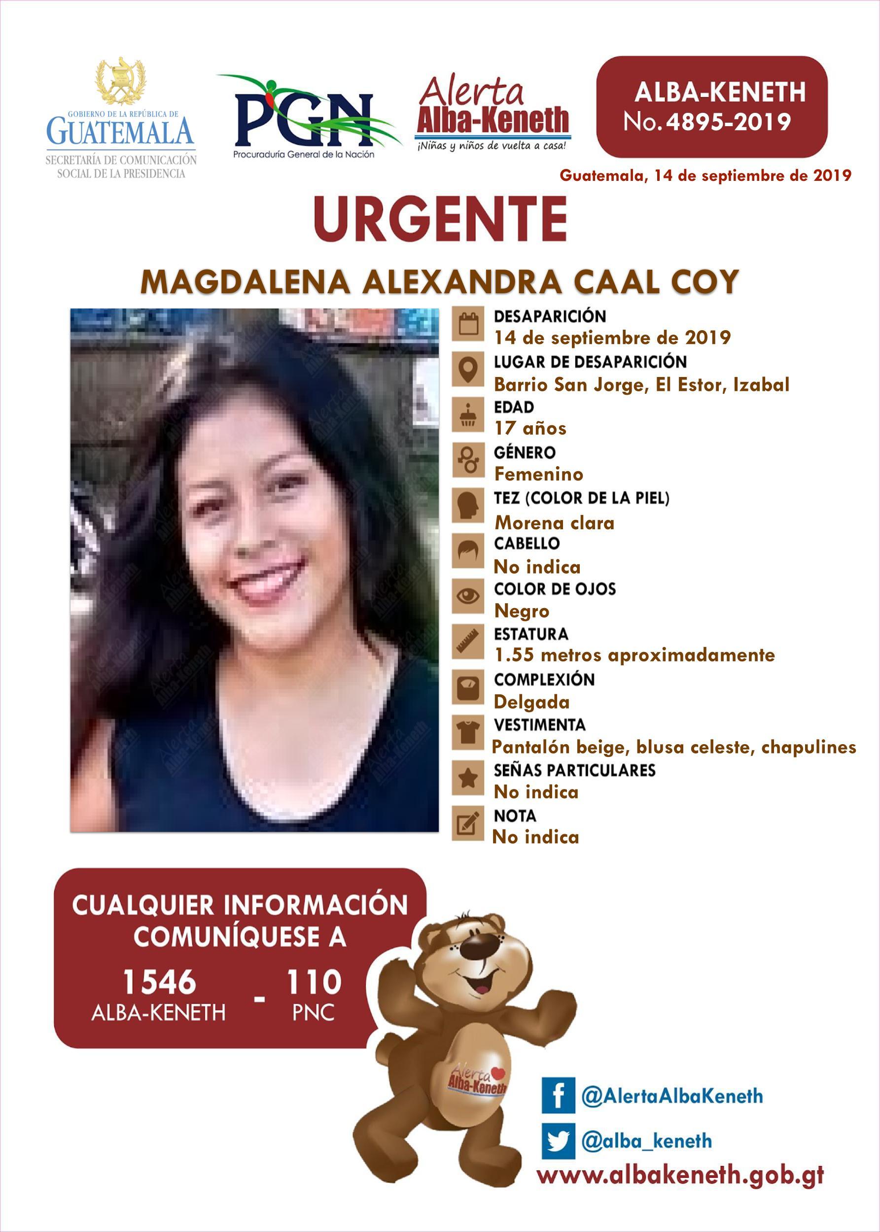 Magdalena Alexandra Caal Coy