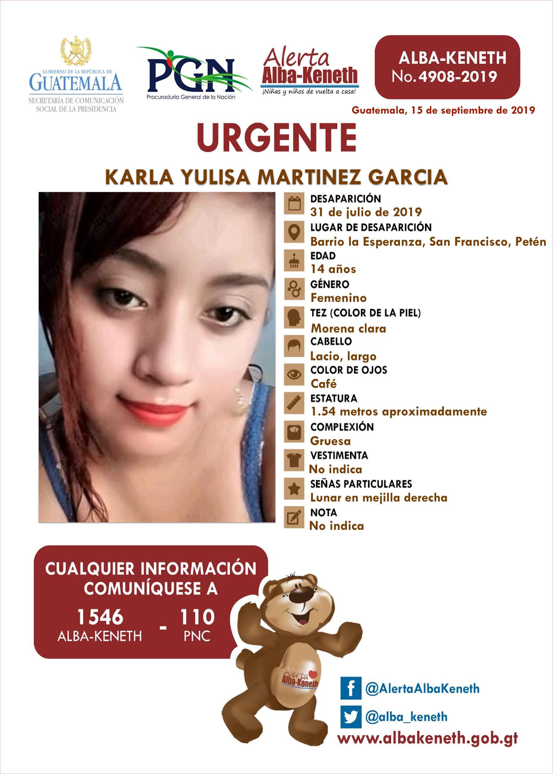 Karla Yulisa Martinez Garcia