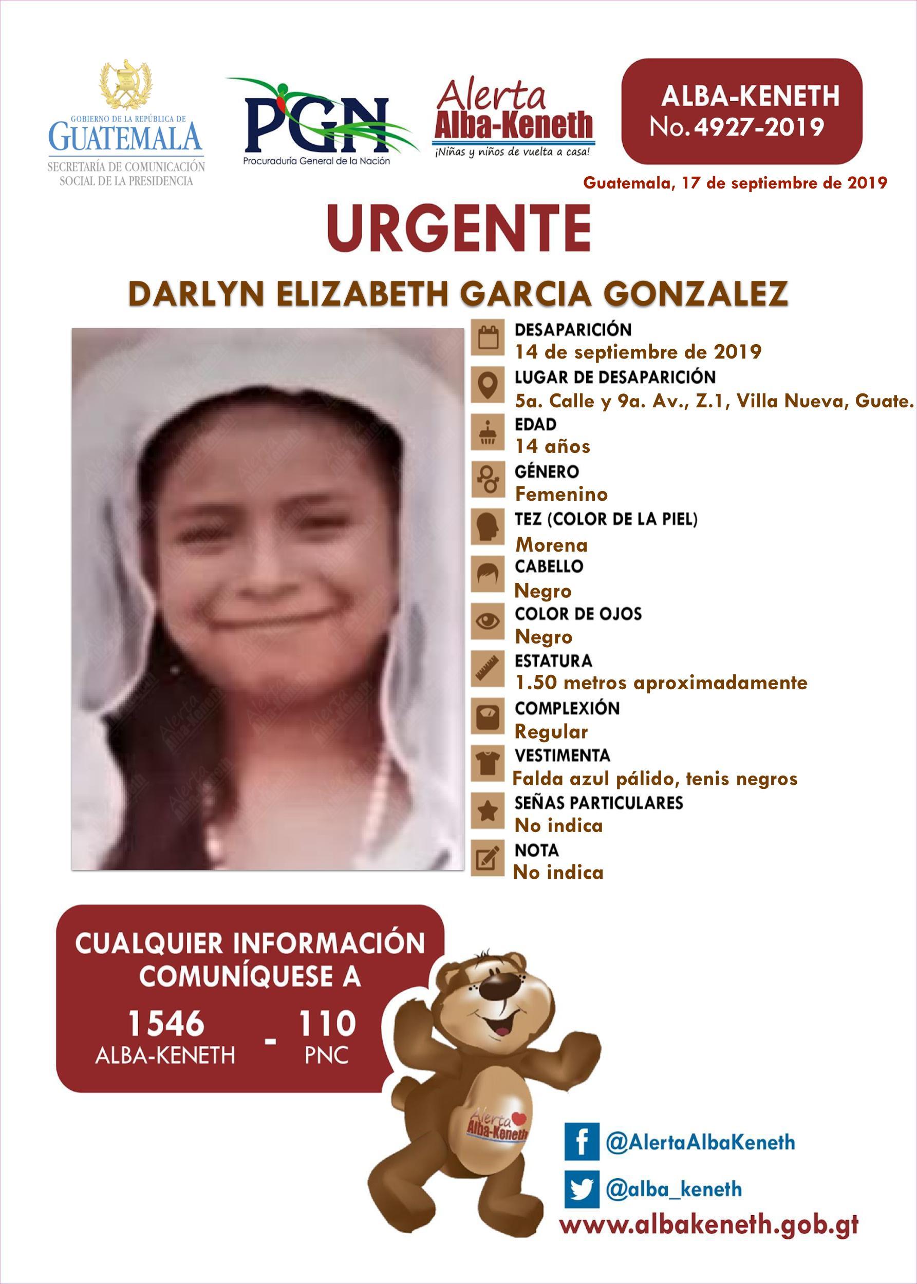 Darlyn Elizabeth Garcia Gonzalez