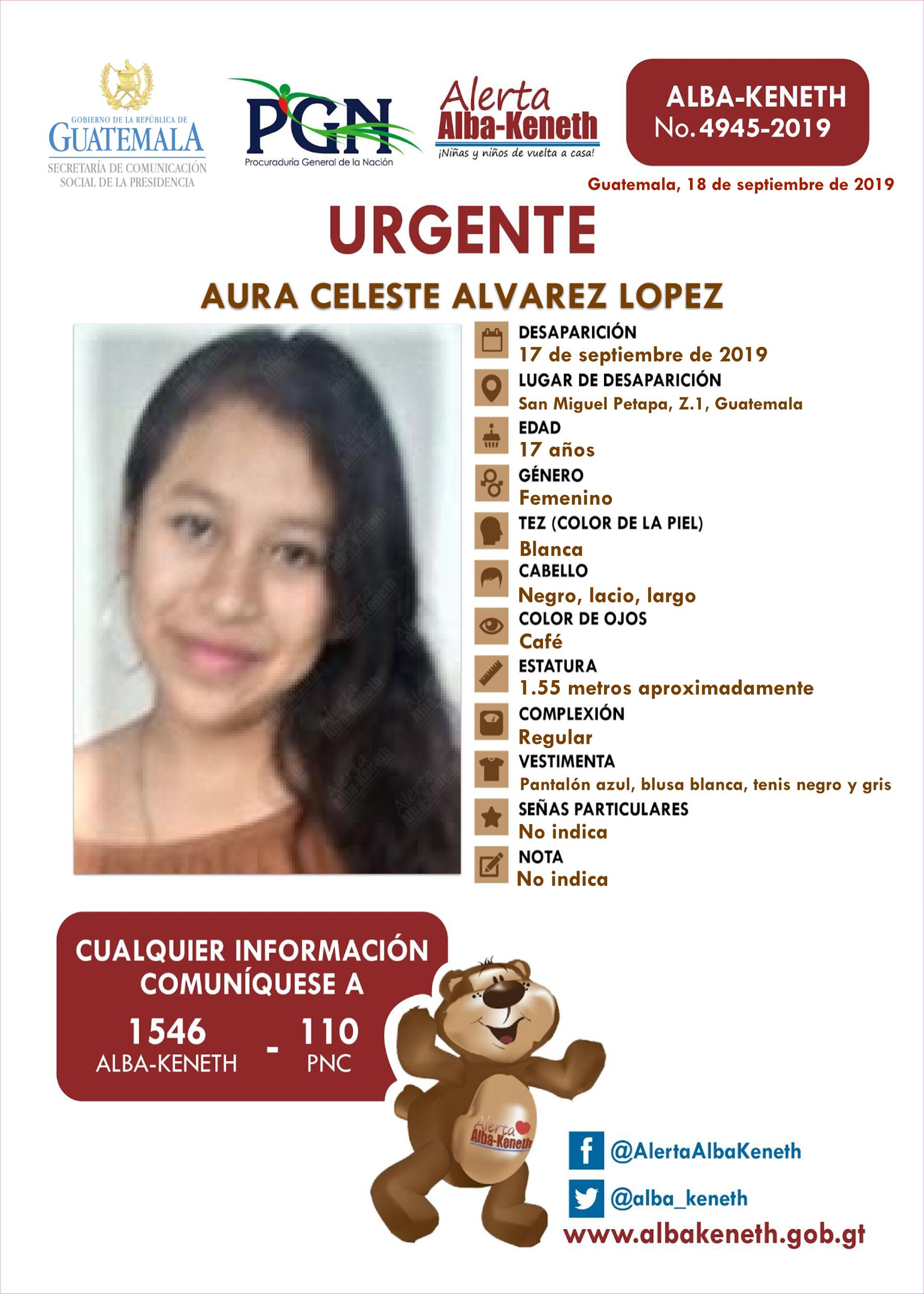 Aura Celeste Alvarez Lopez