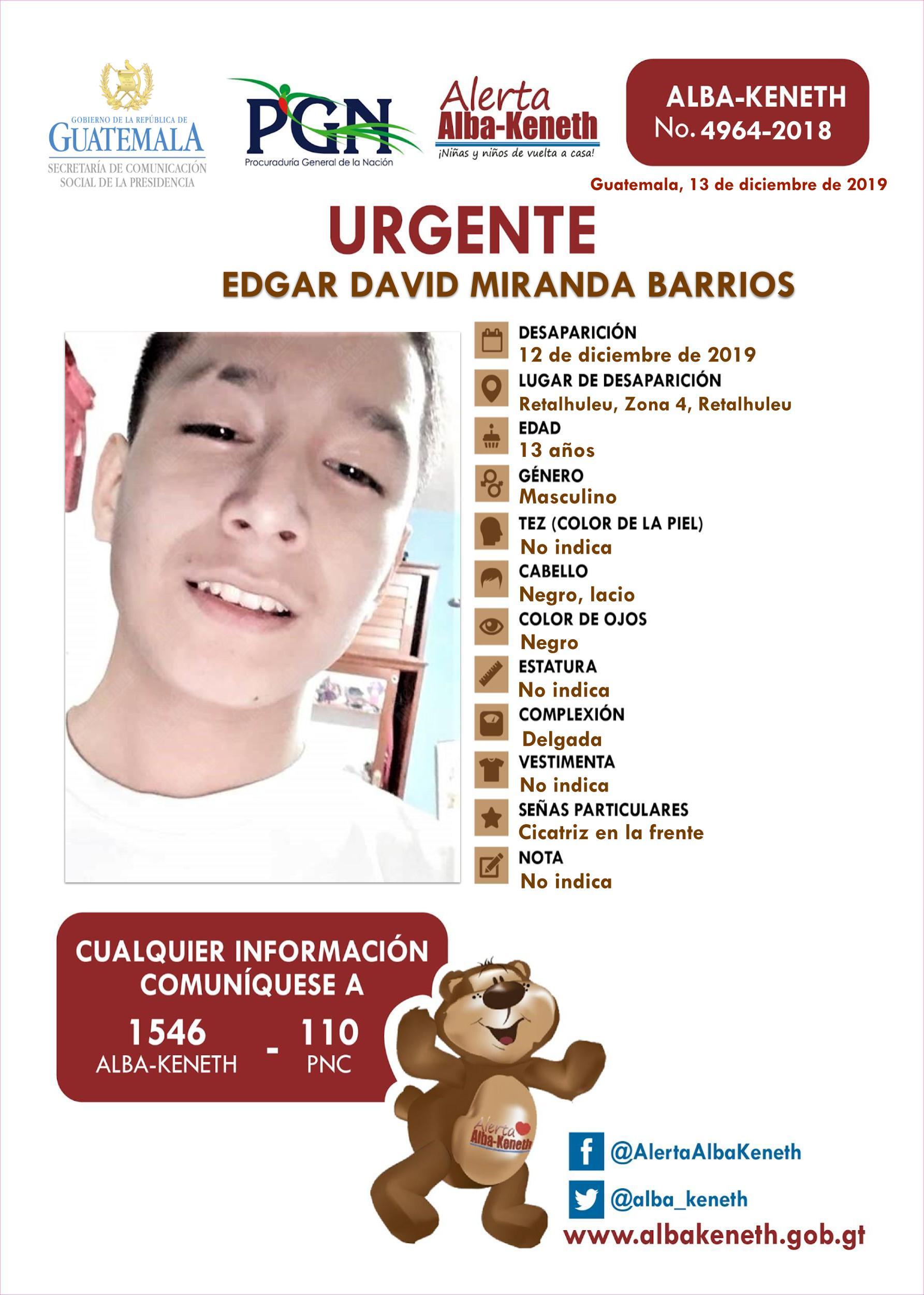 Edgar David Miranda Barrios