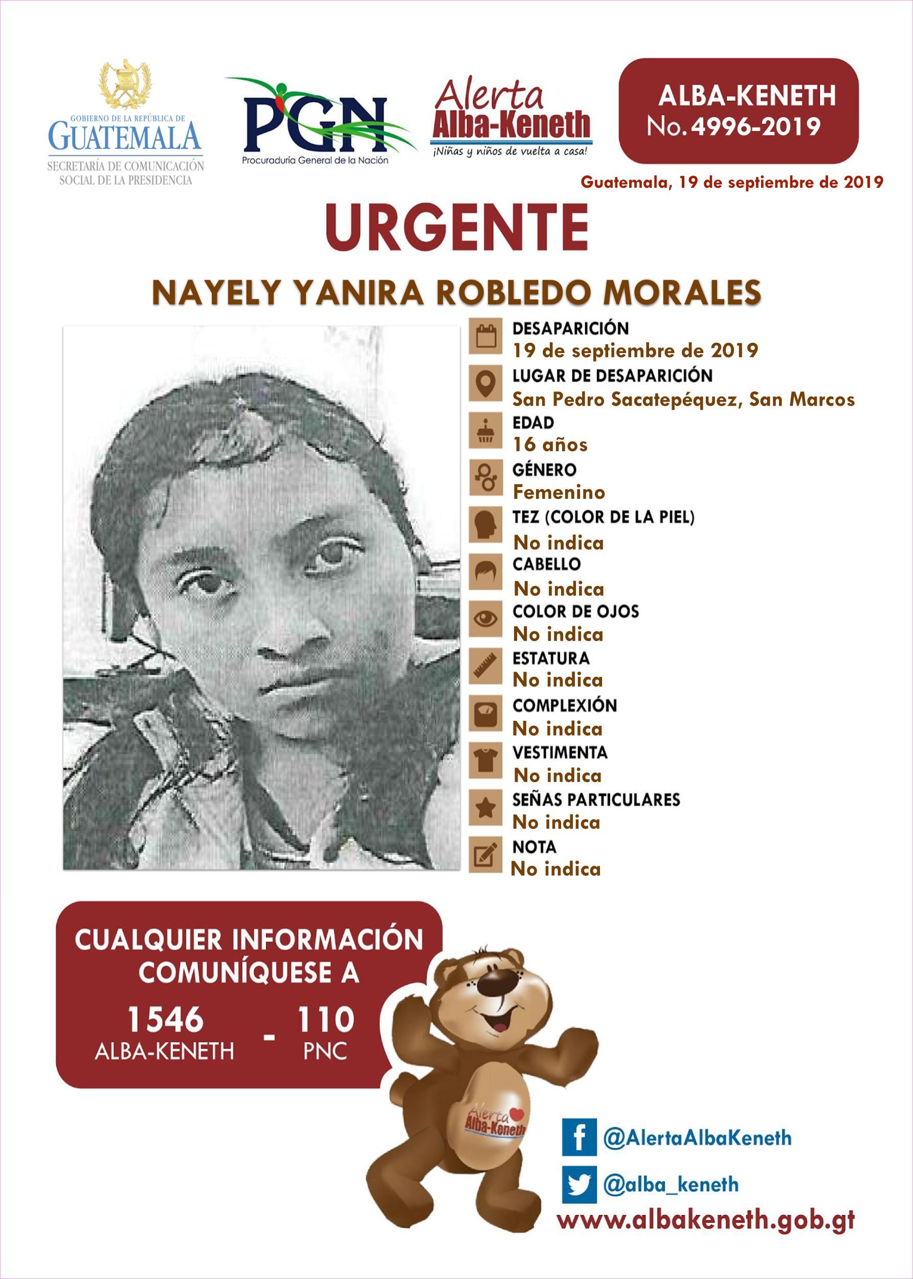 Nayeli Yanira Robledo Morales