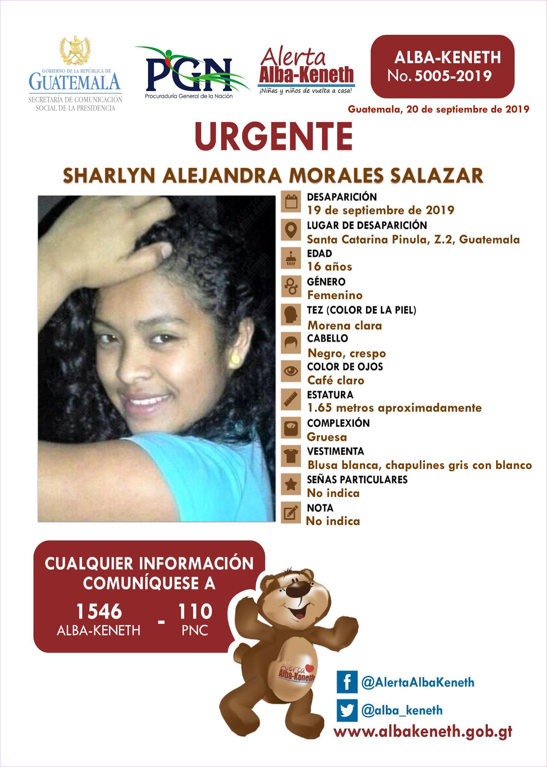 Sharlyn Alejandra Morales Salazar