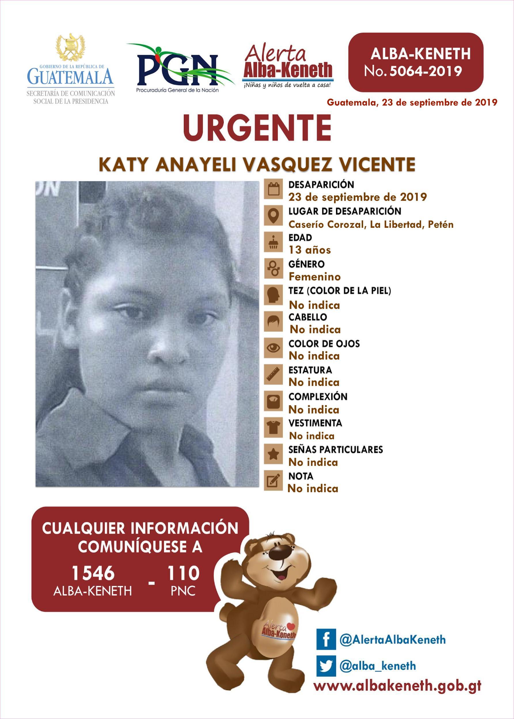 Katy Anayeli Vasquez Vicente