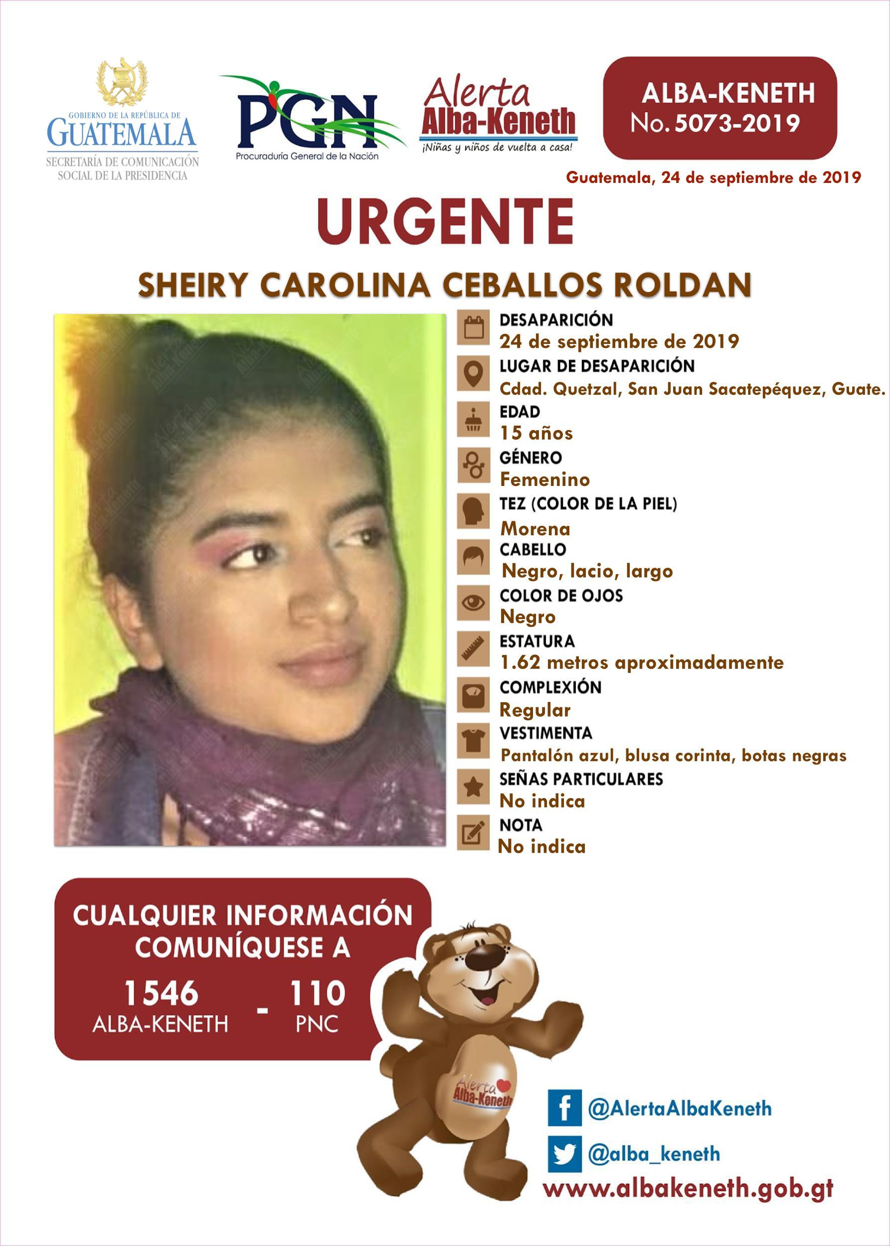 Sheiry Carolina Ceballos Roldan