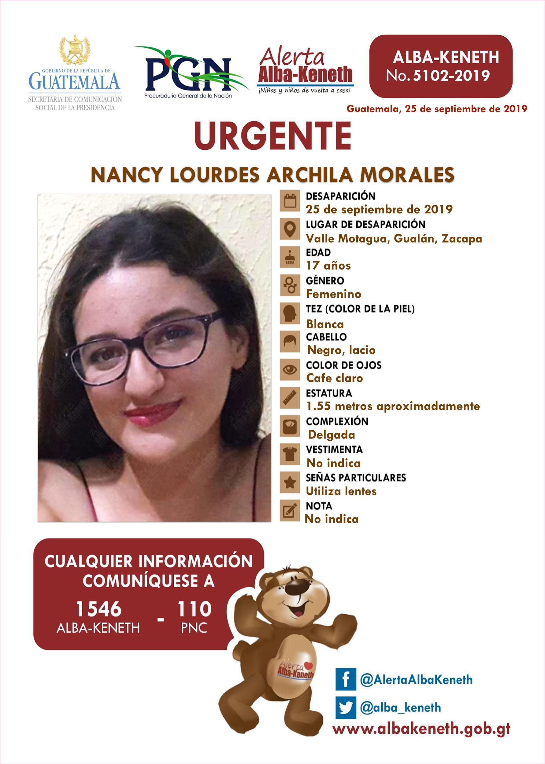Nancy Lourdes Archila Morales