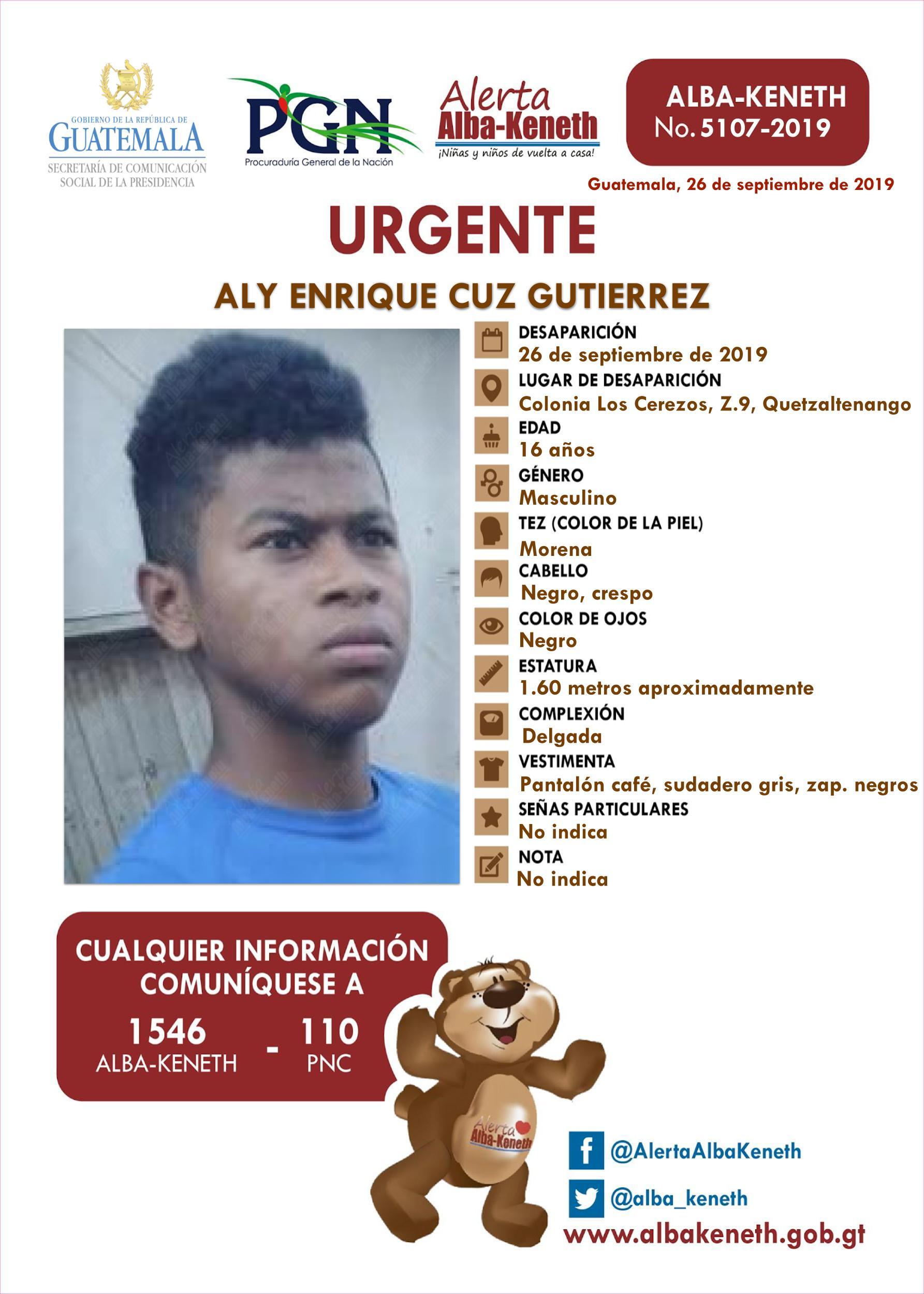 Aly Enrique Cuz Gutierrez