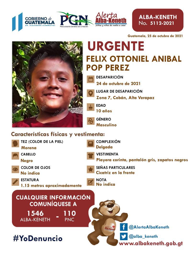 Felix Ottoniel Anibal Pop Perez