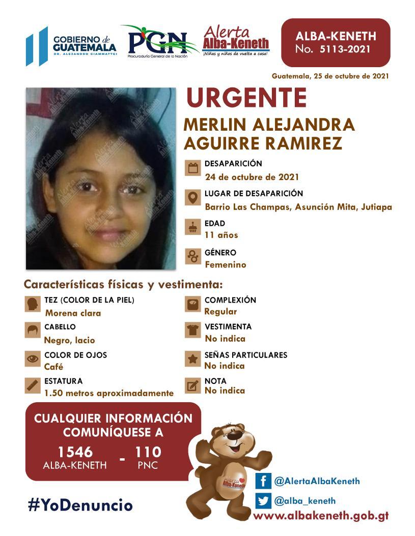 Merlin Alejandra Aguirre Ramirez