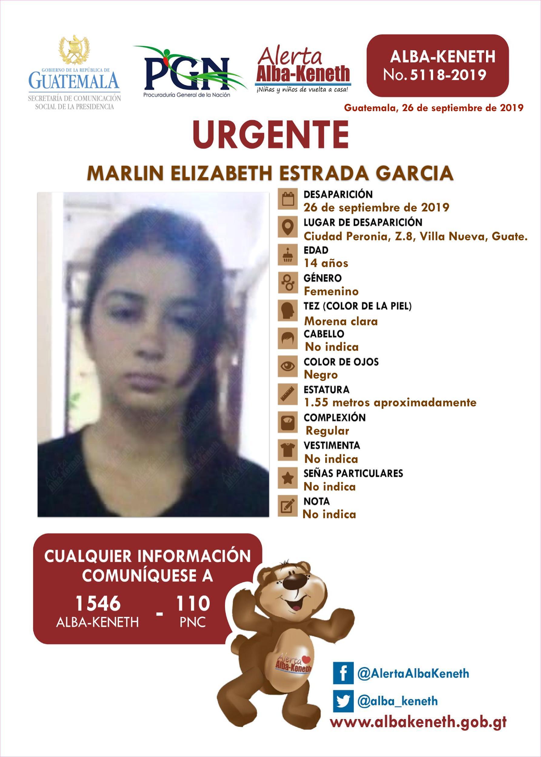 Marlin Elizabeth Estrada Garcia