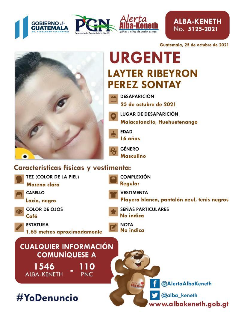Layter Ribeyron Perez Sontay