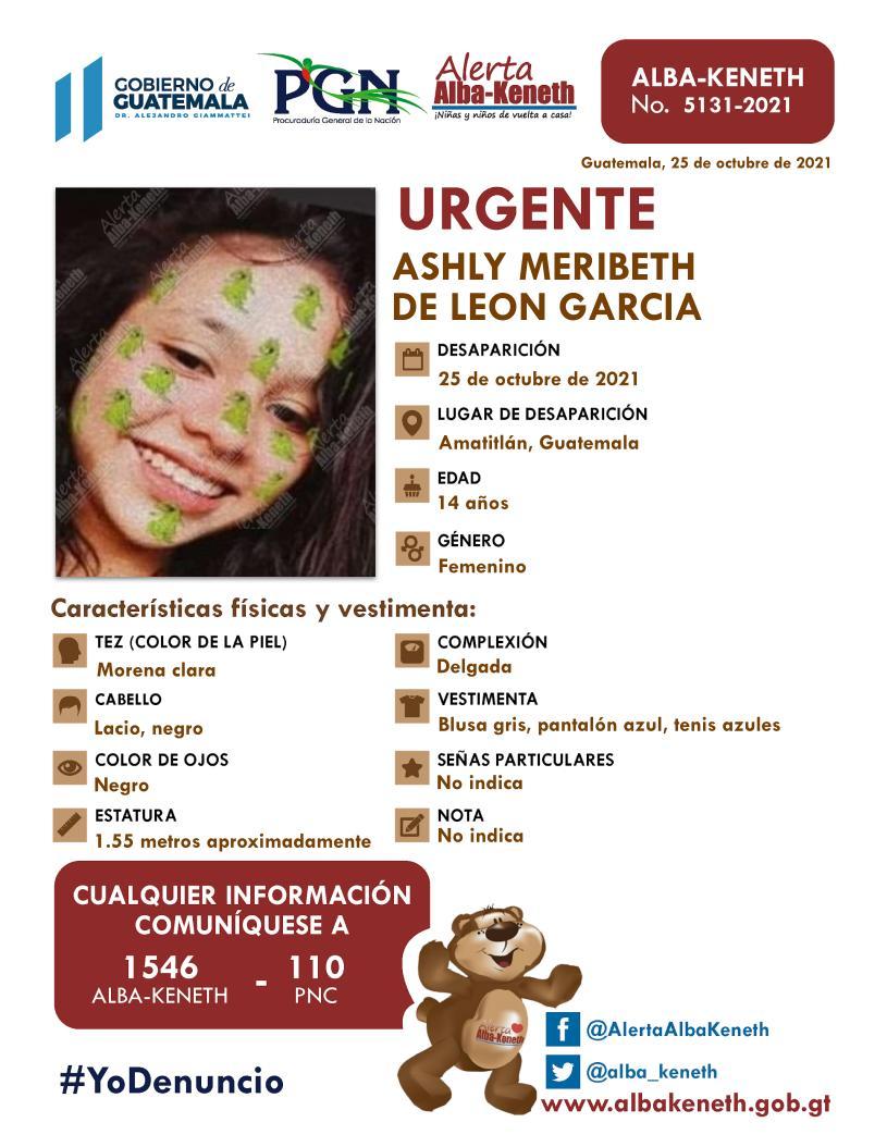 Ashly Meribeth De Leon Garcia