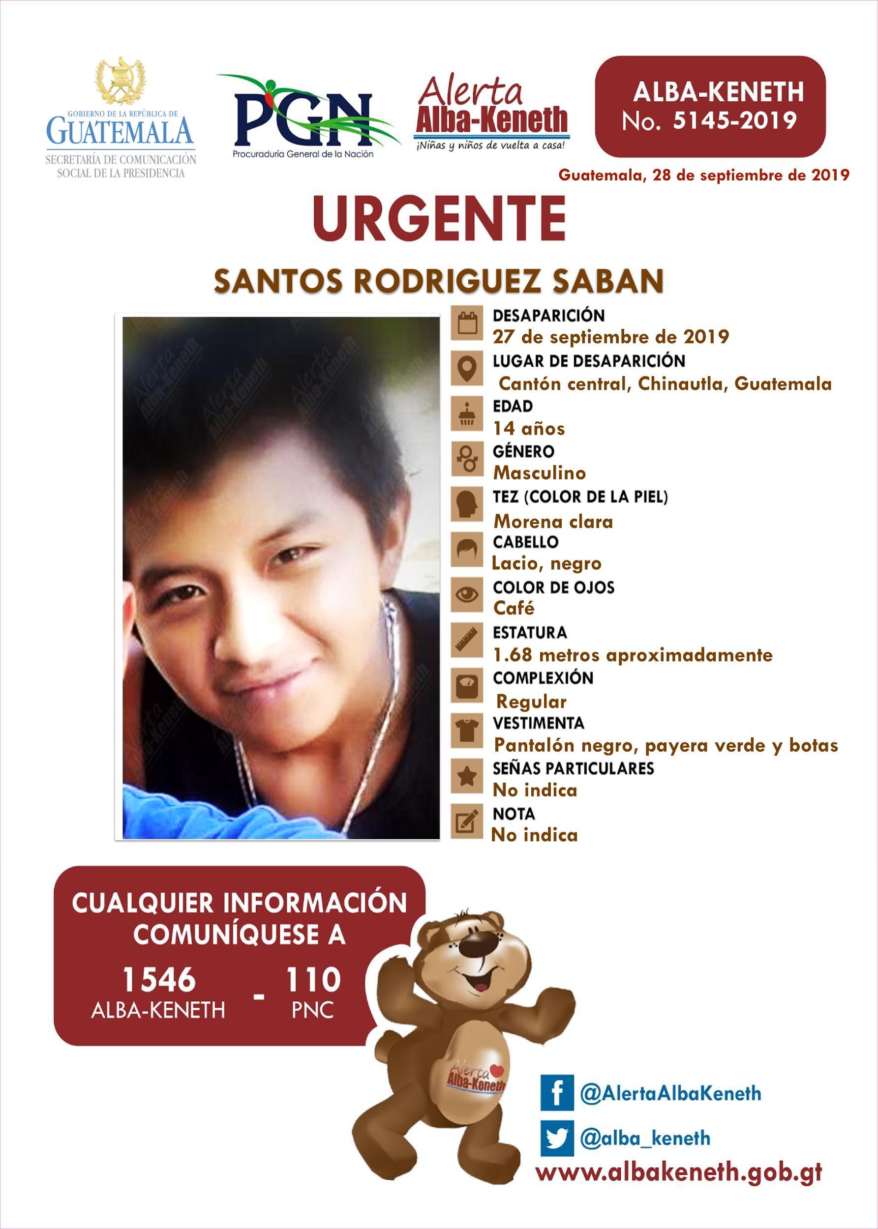Santos Rodriguez Saban