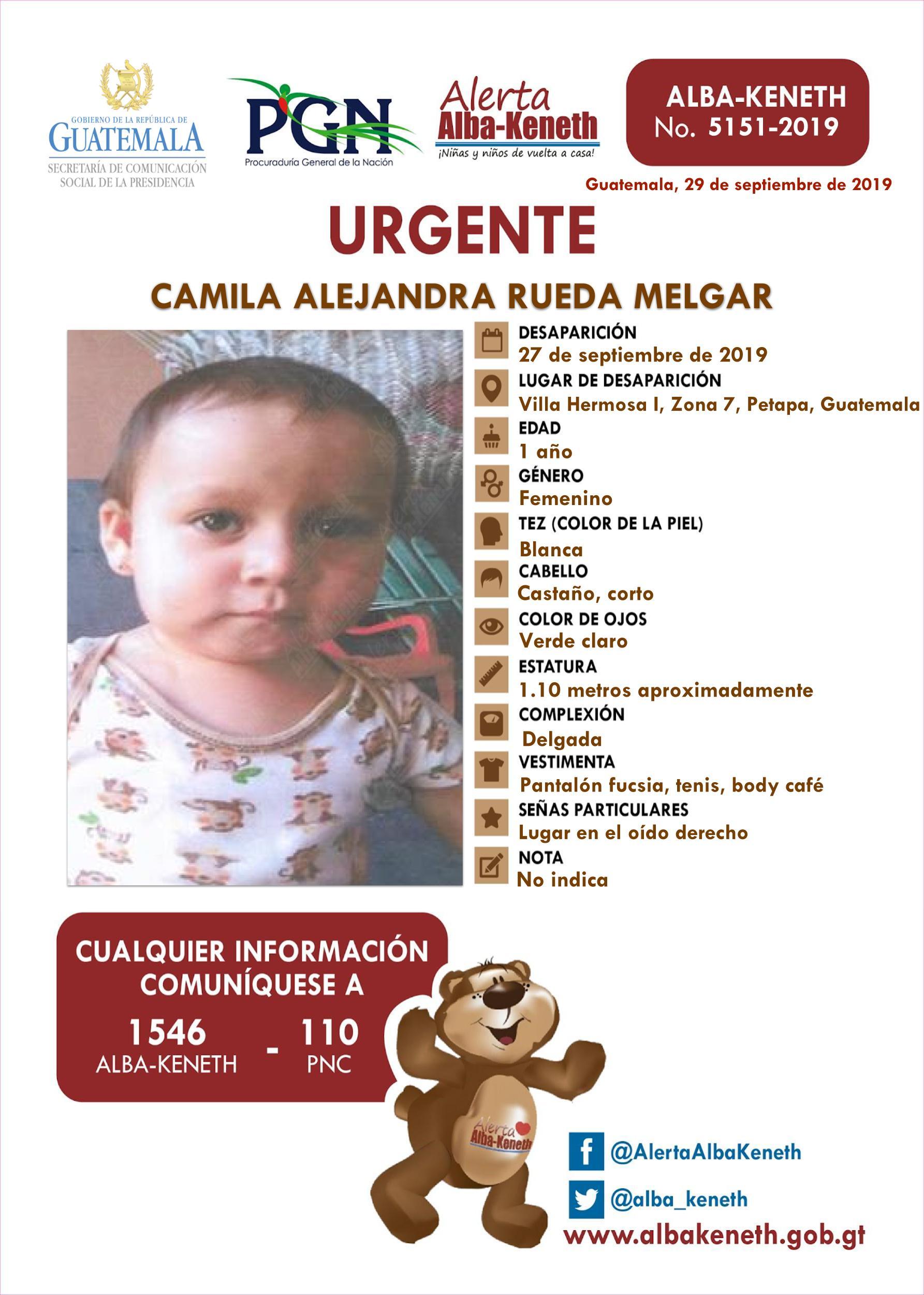 Camila Alejandra Rueda Melgar