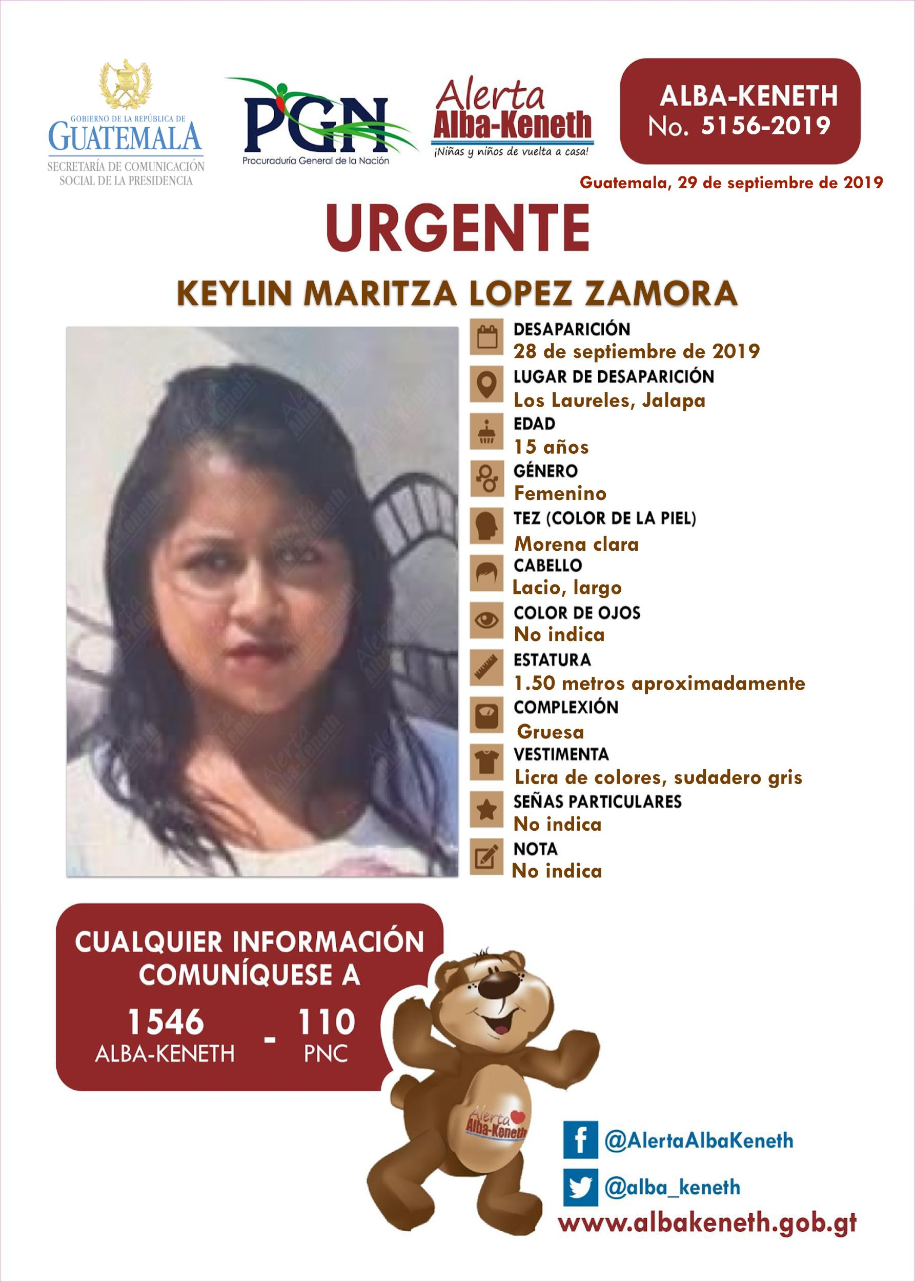 Keylin Maritza Lopez Zamora