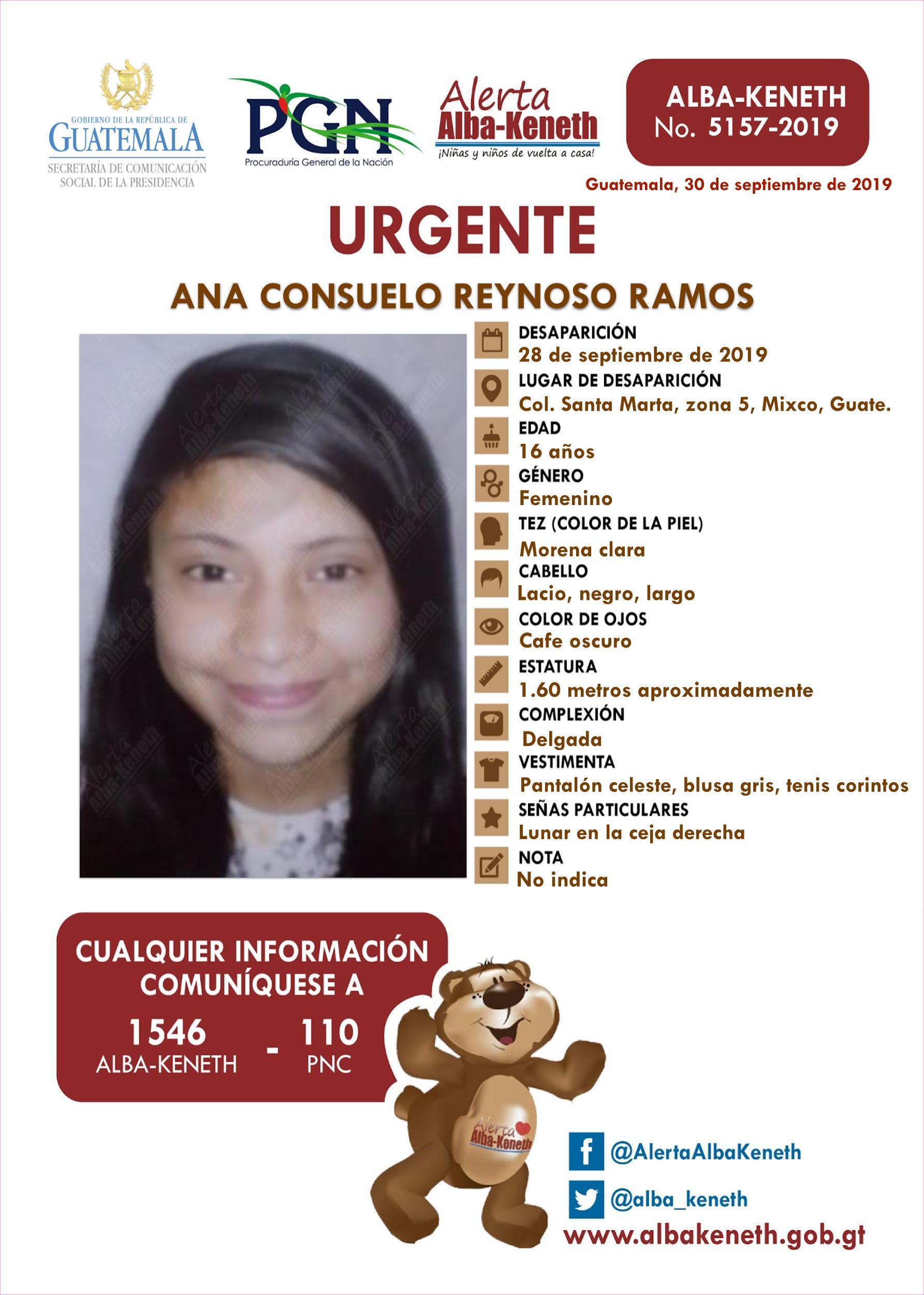 Ana Consuelo Reynoso Ramos