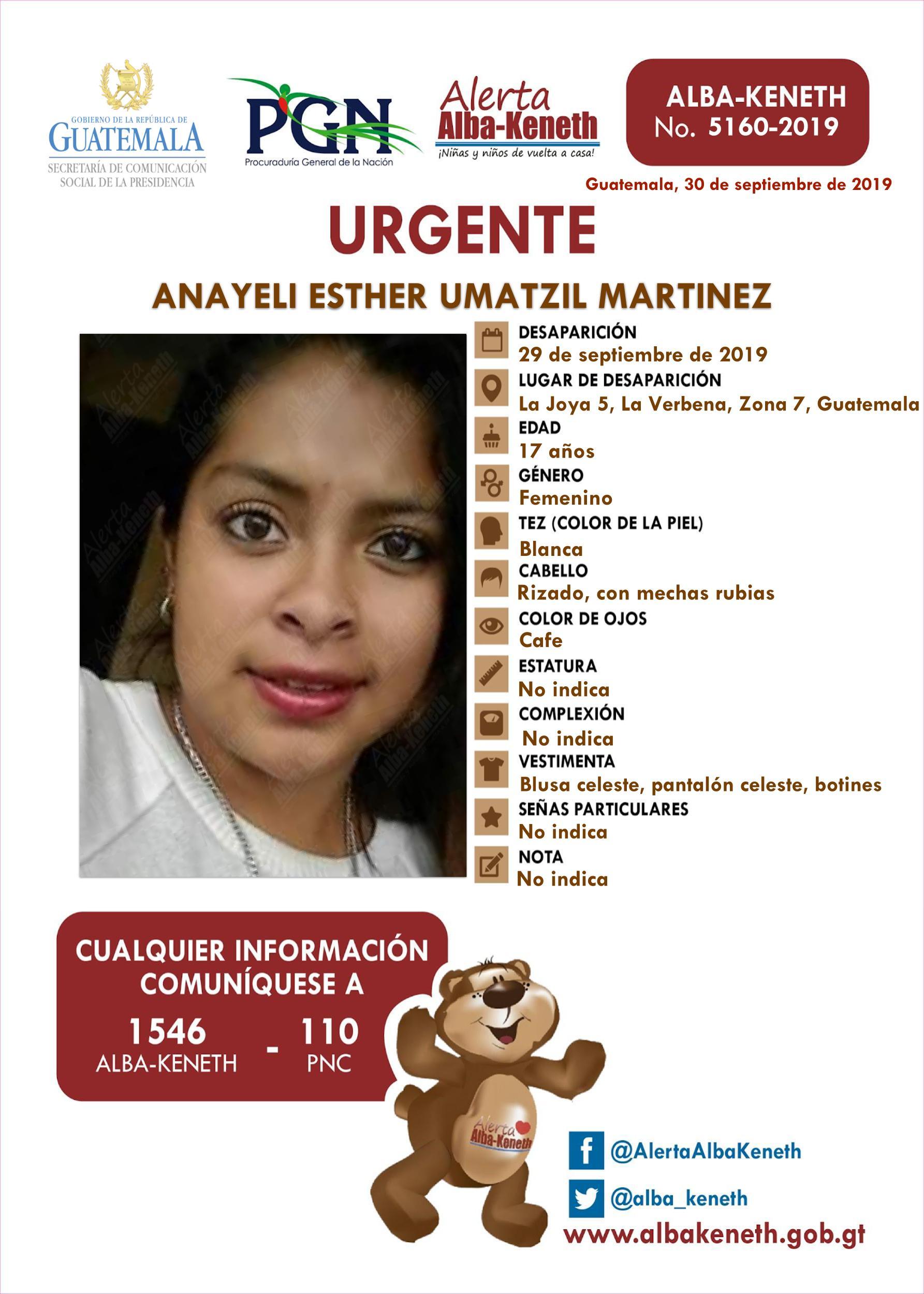 Anayeli Esther Uatzil Martinez