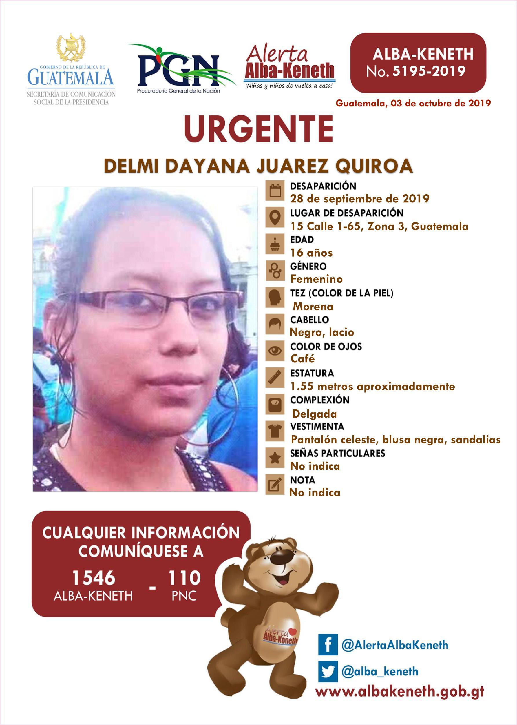 Delmi Dayana Juarez Quiroa