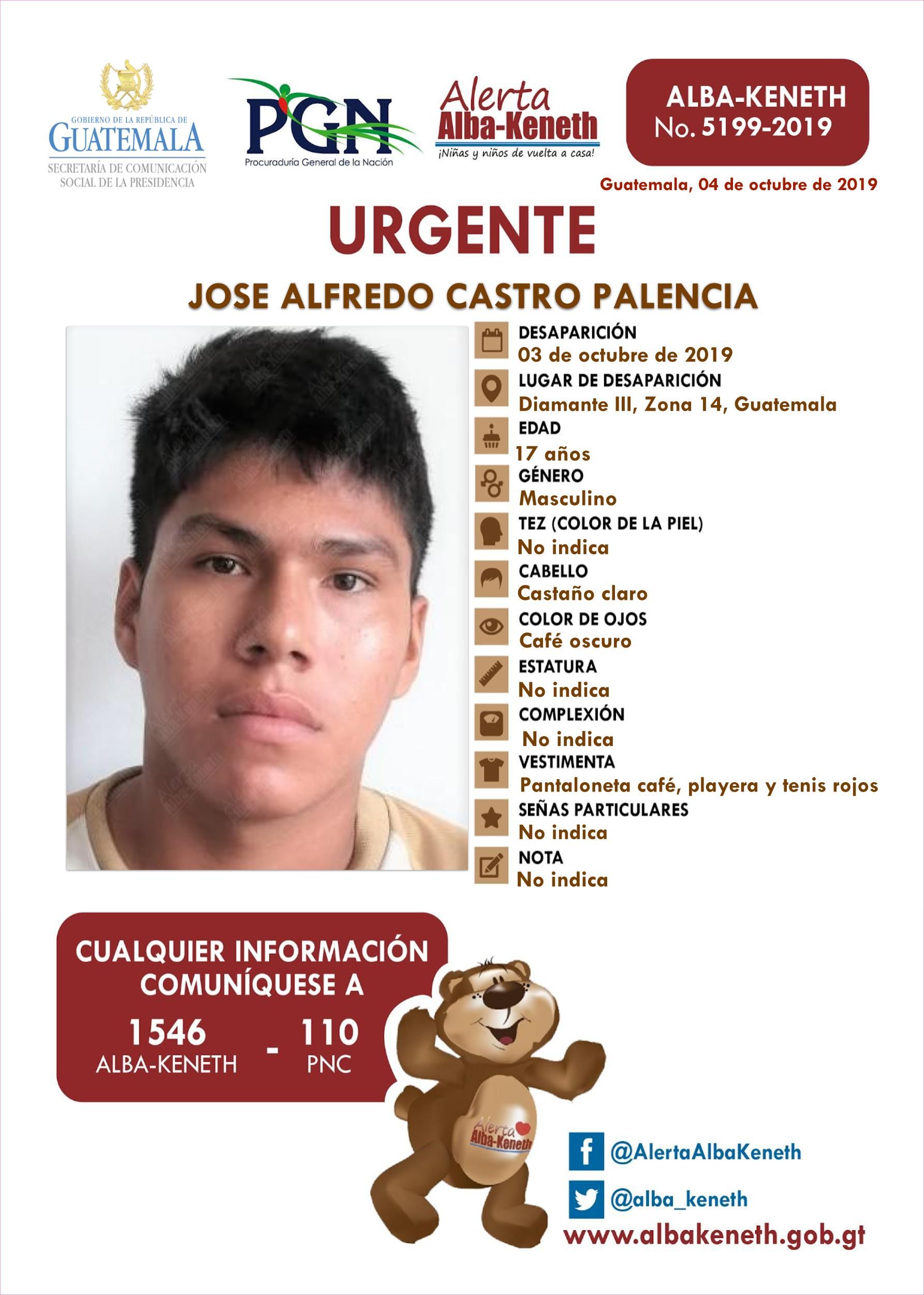 Jose Alfredo Castro Palencia