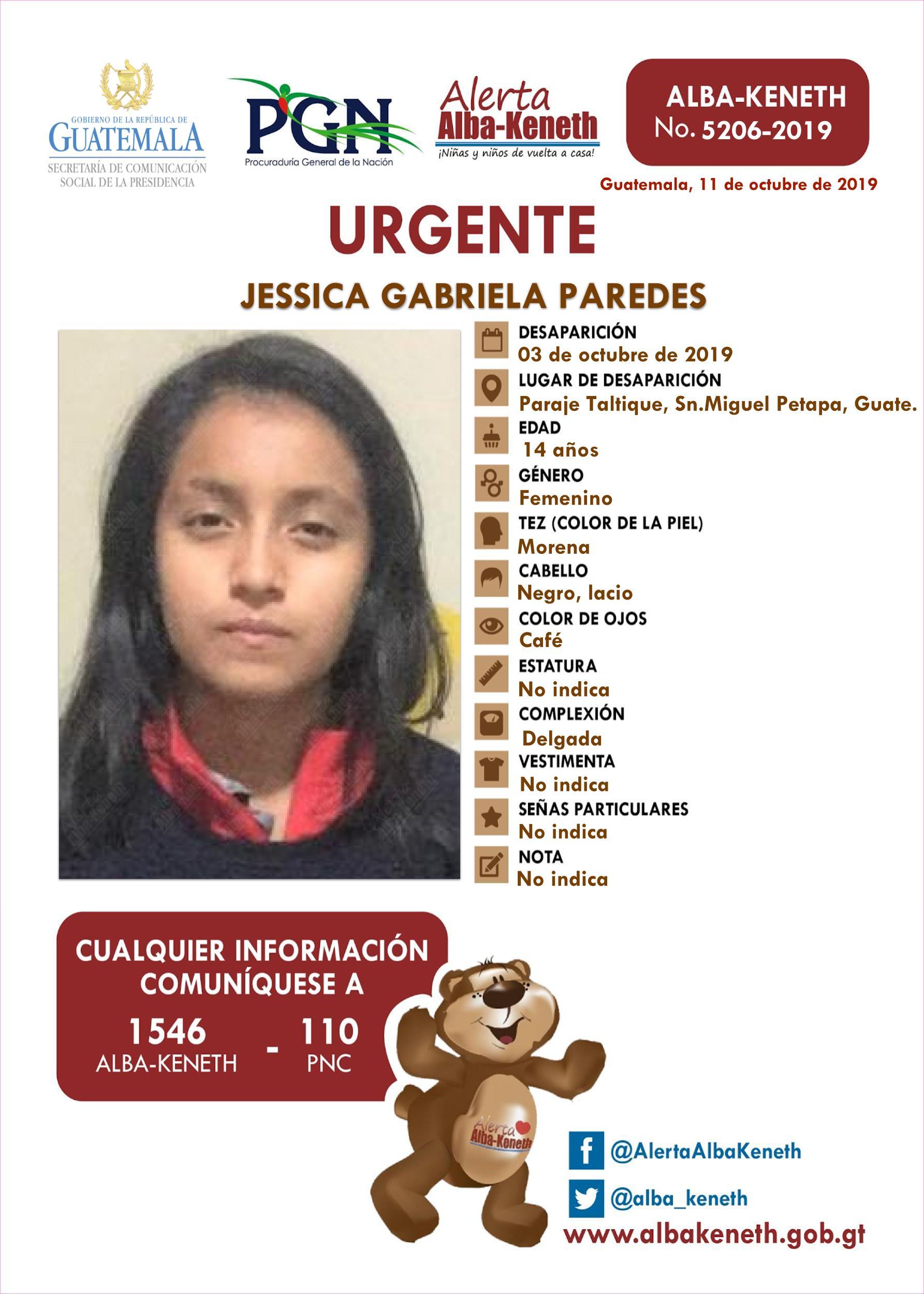 Jessica Gabriela Paredes