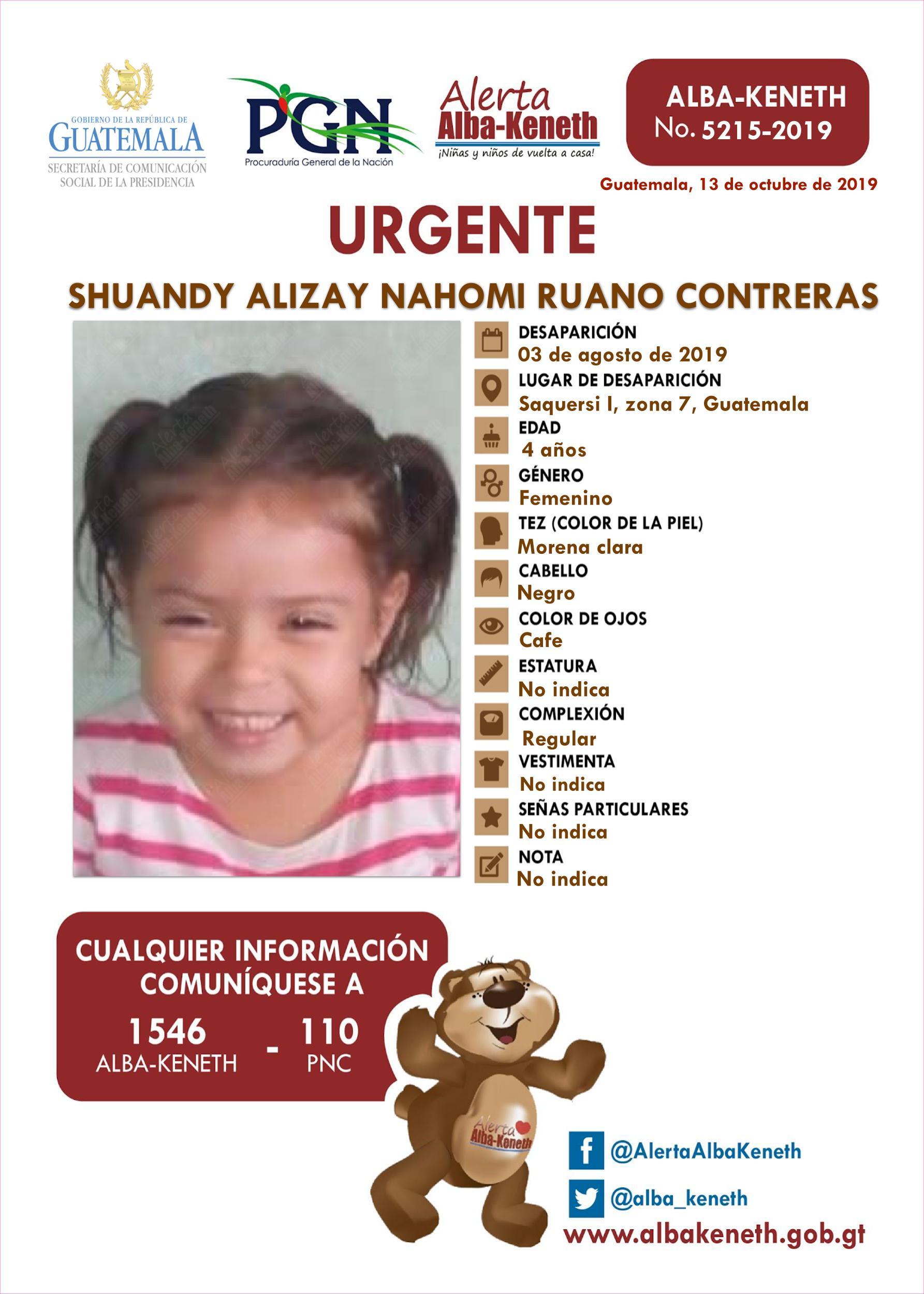 Shuandy Alizay Nahomi Ruano Contreras