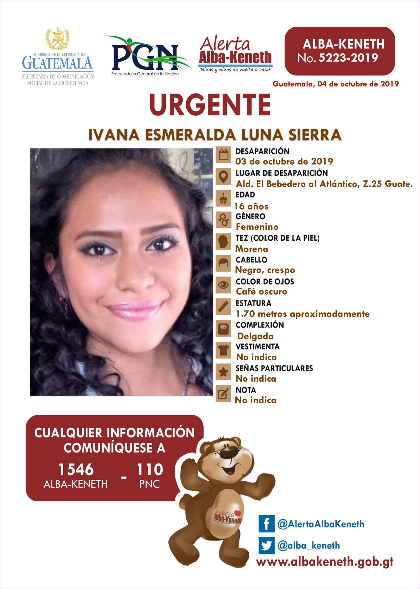 Ivana Esmeralda Luba Sierra