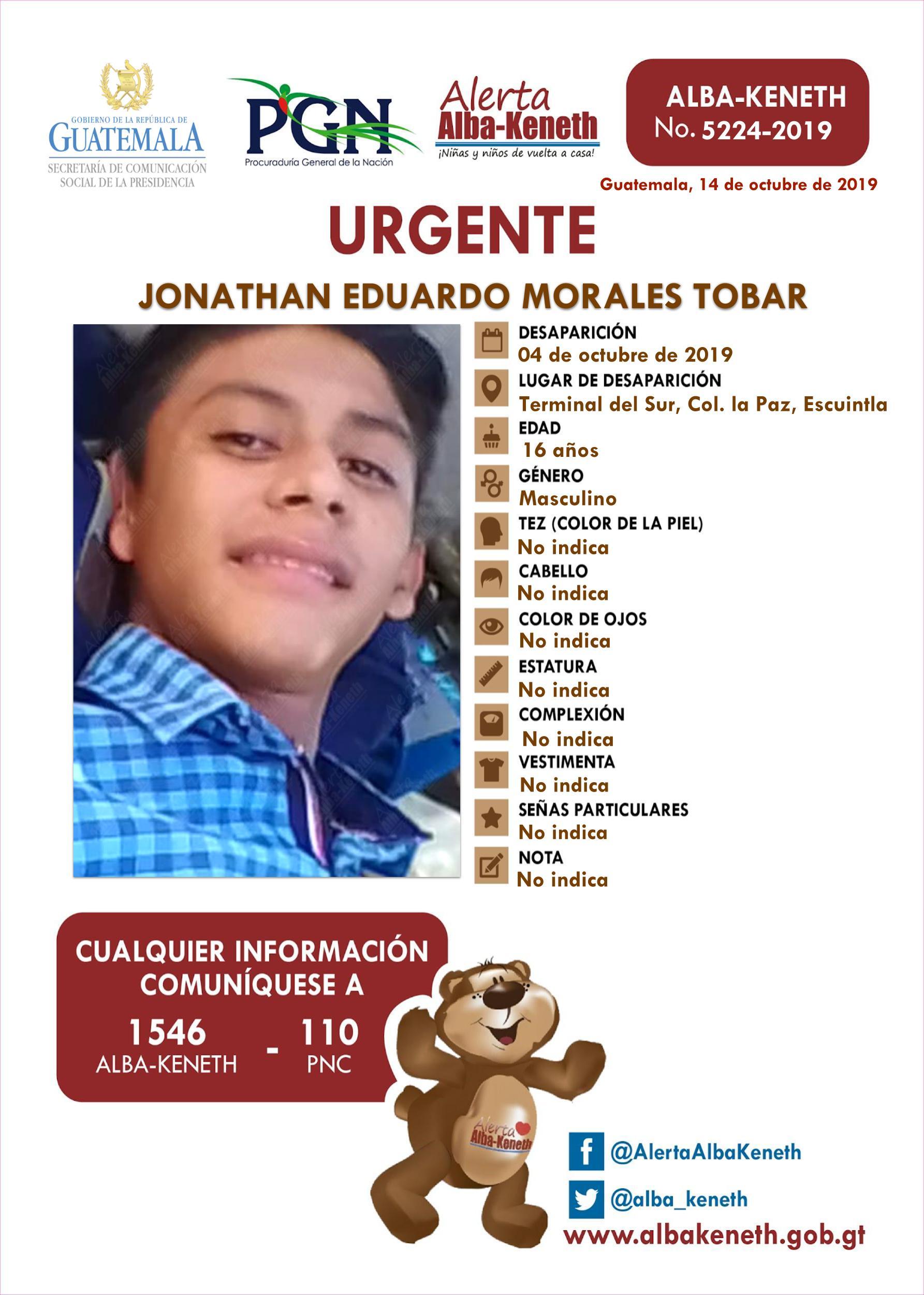 Jonathan Eduardo Morales Tobar