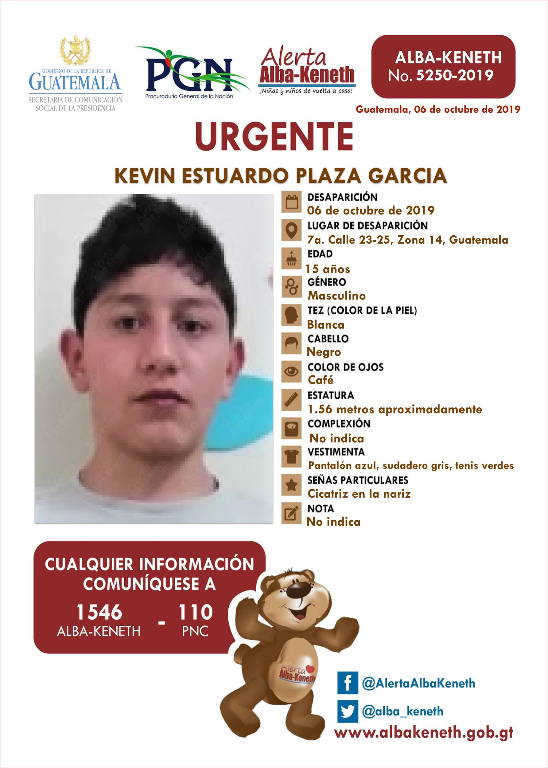 Kevin Estuardo Plaza Garcia