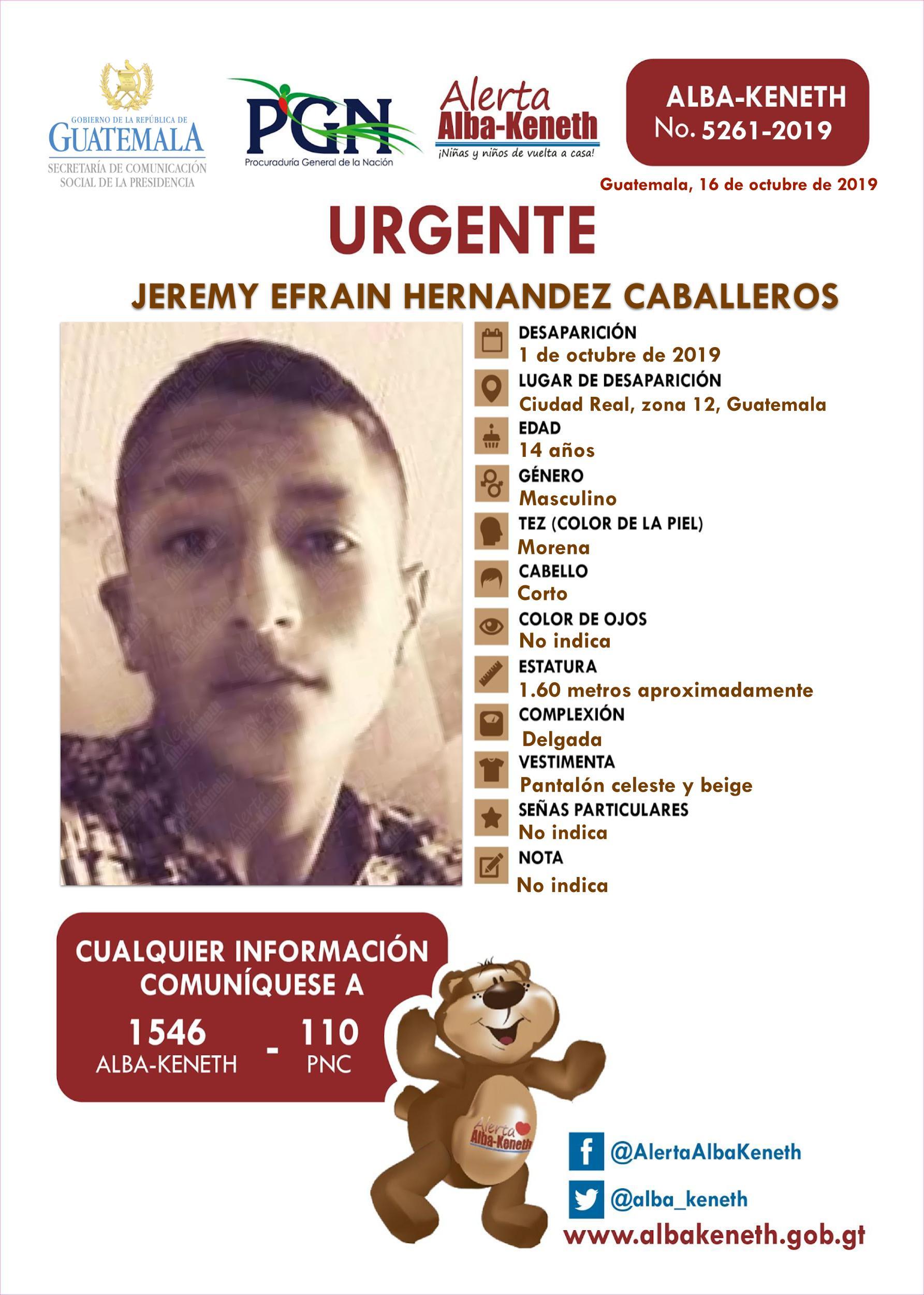 Jeremy Efrain Hernandez Caballeros