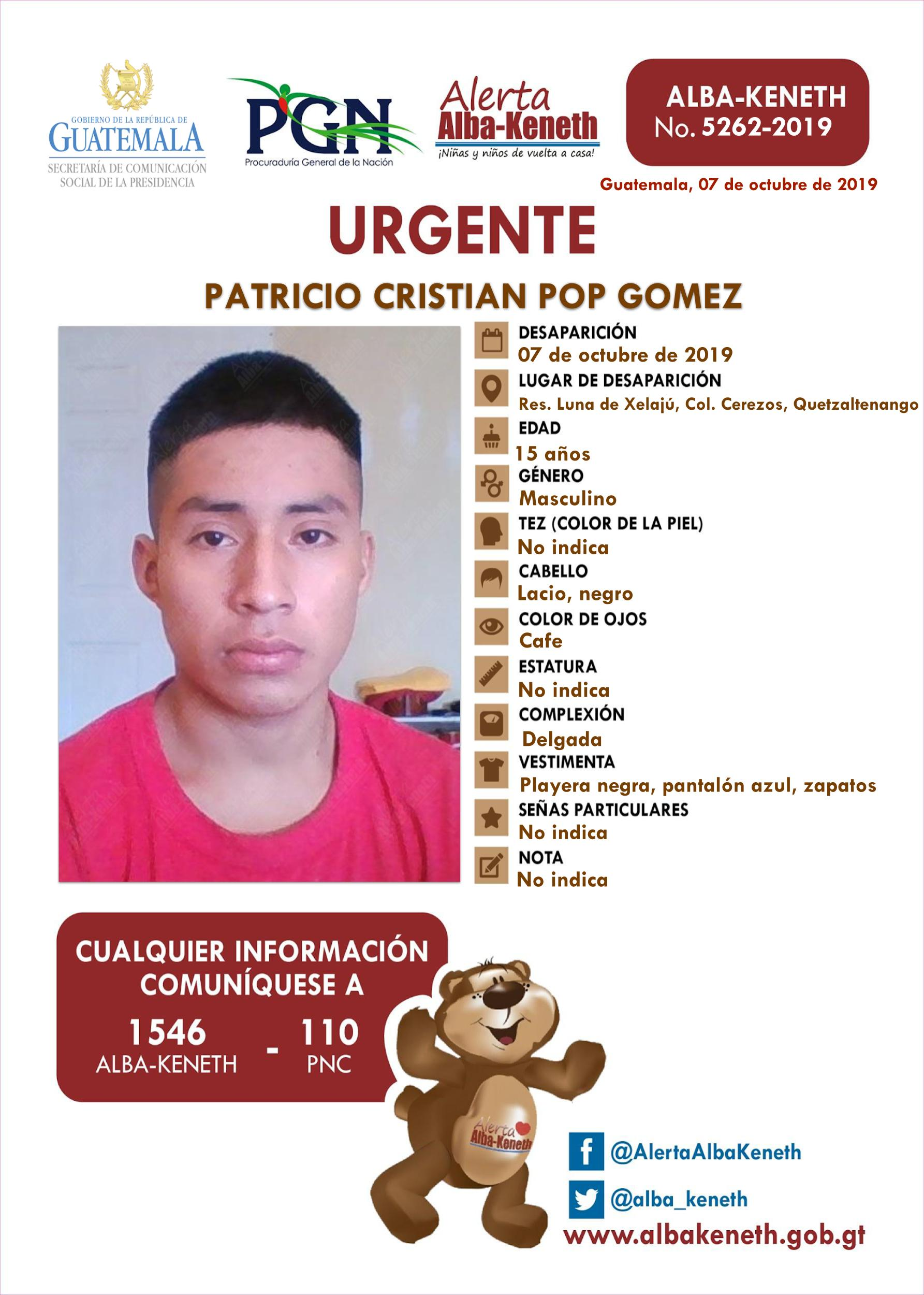 Patricio Cristian Pop Gomez