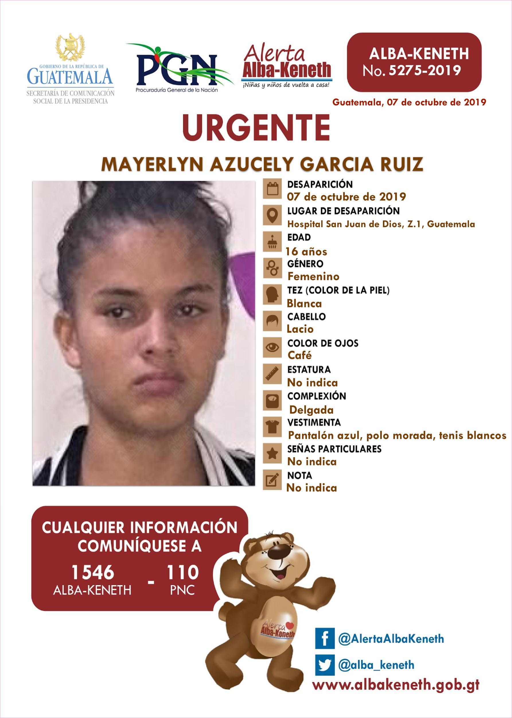 Mayerlyn Azucely Garcia Ruiz