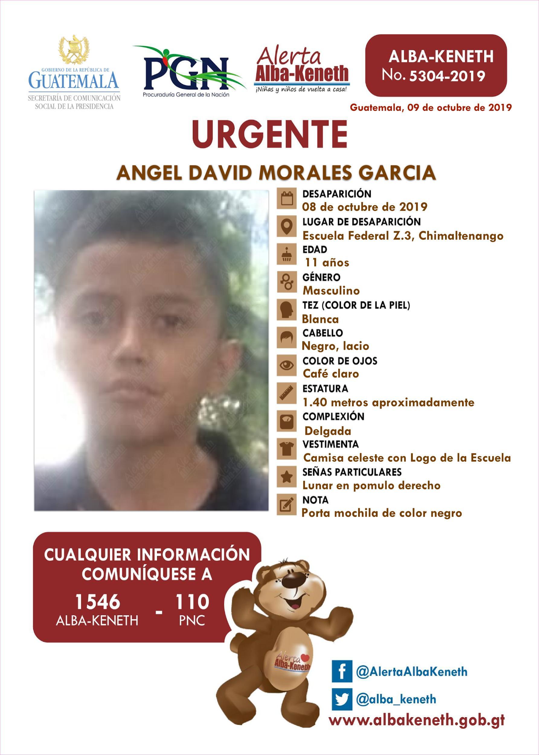 Angel David Morales Garcia
