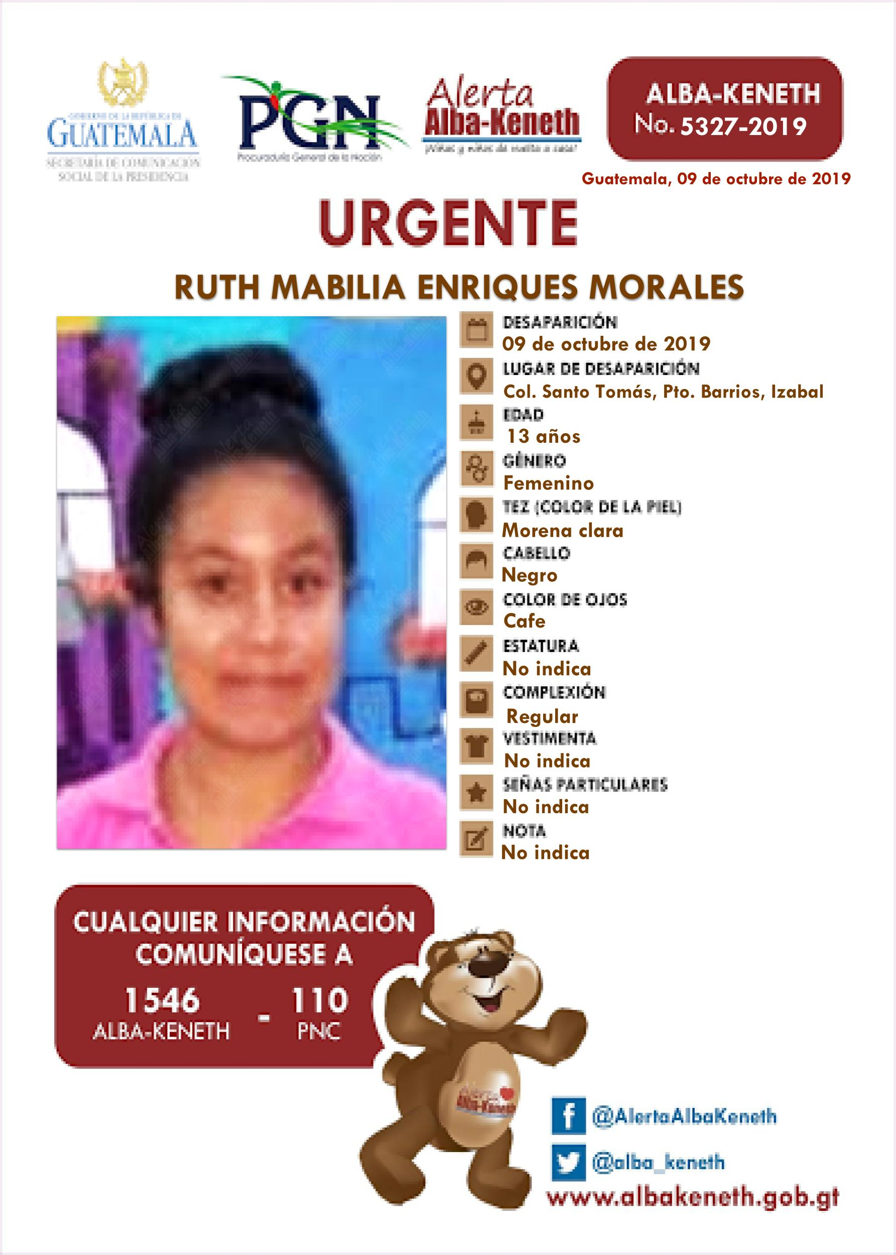 Ruth Mabilia Enriques Morales