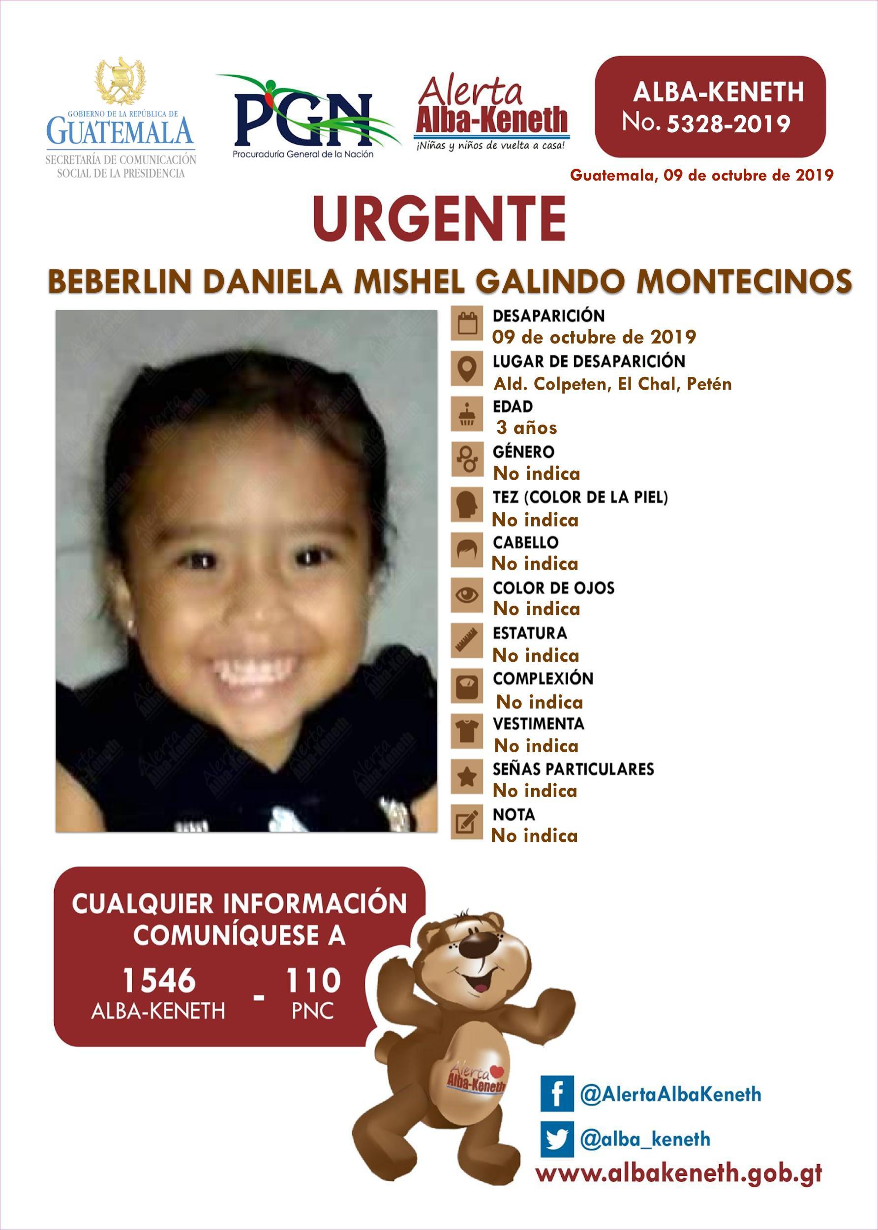 Beberlin Daniela Mishel Galindo Montecinos
