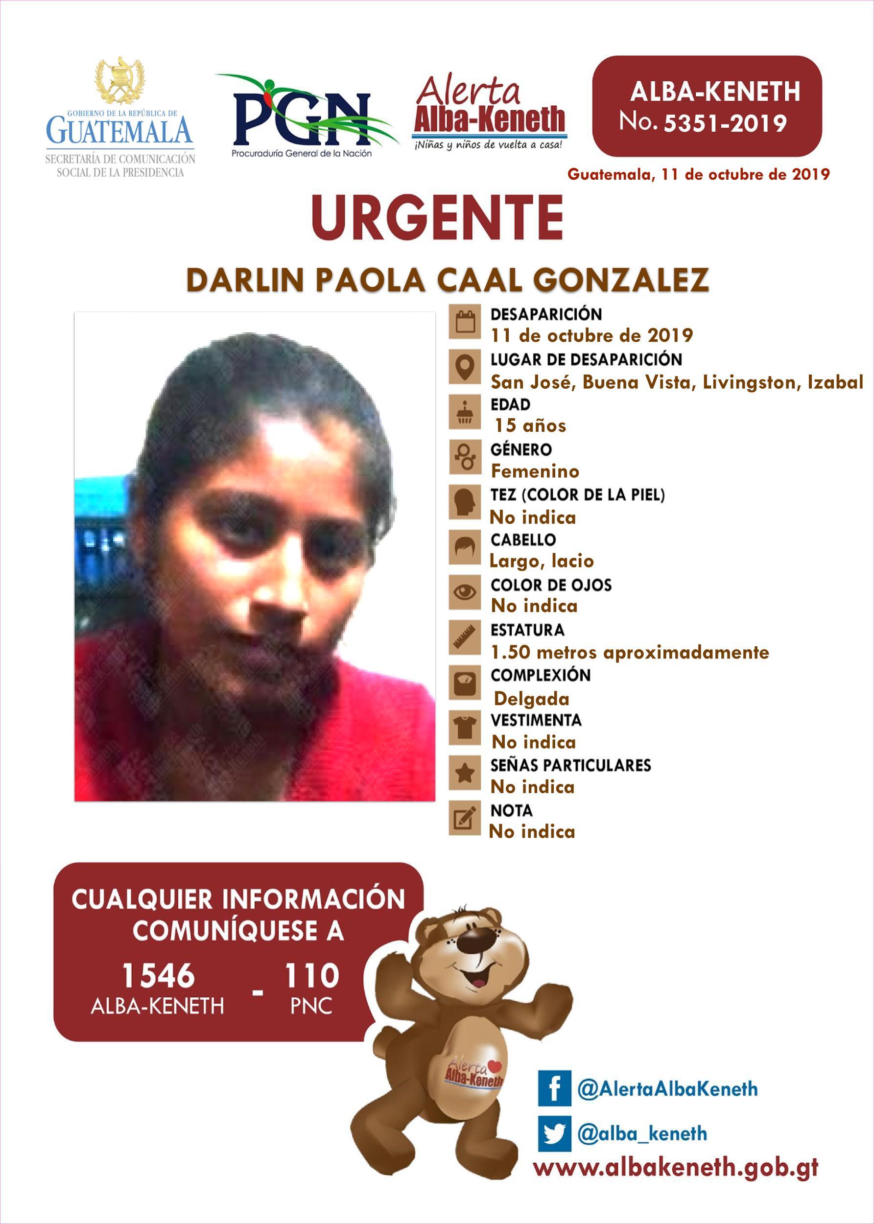 Darlin Paola Caal Ganzalez